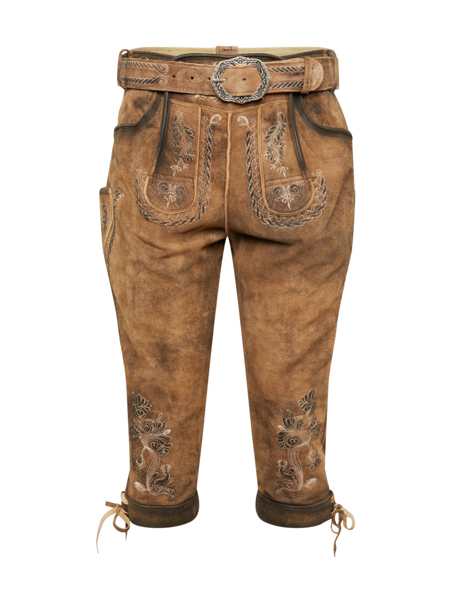 Krojové kalhoty SAndro KB hnědá MARJO