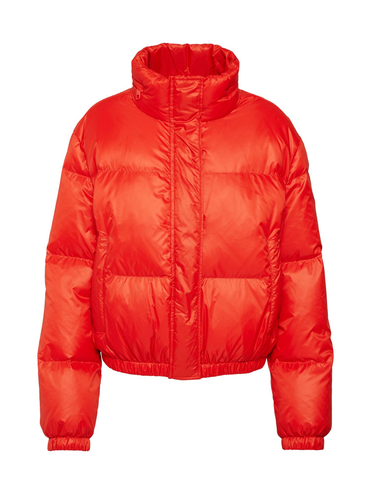 Přechodná bunda Ofrosty červená BOSS