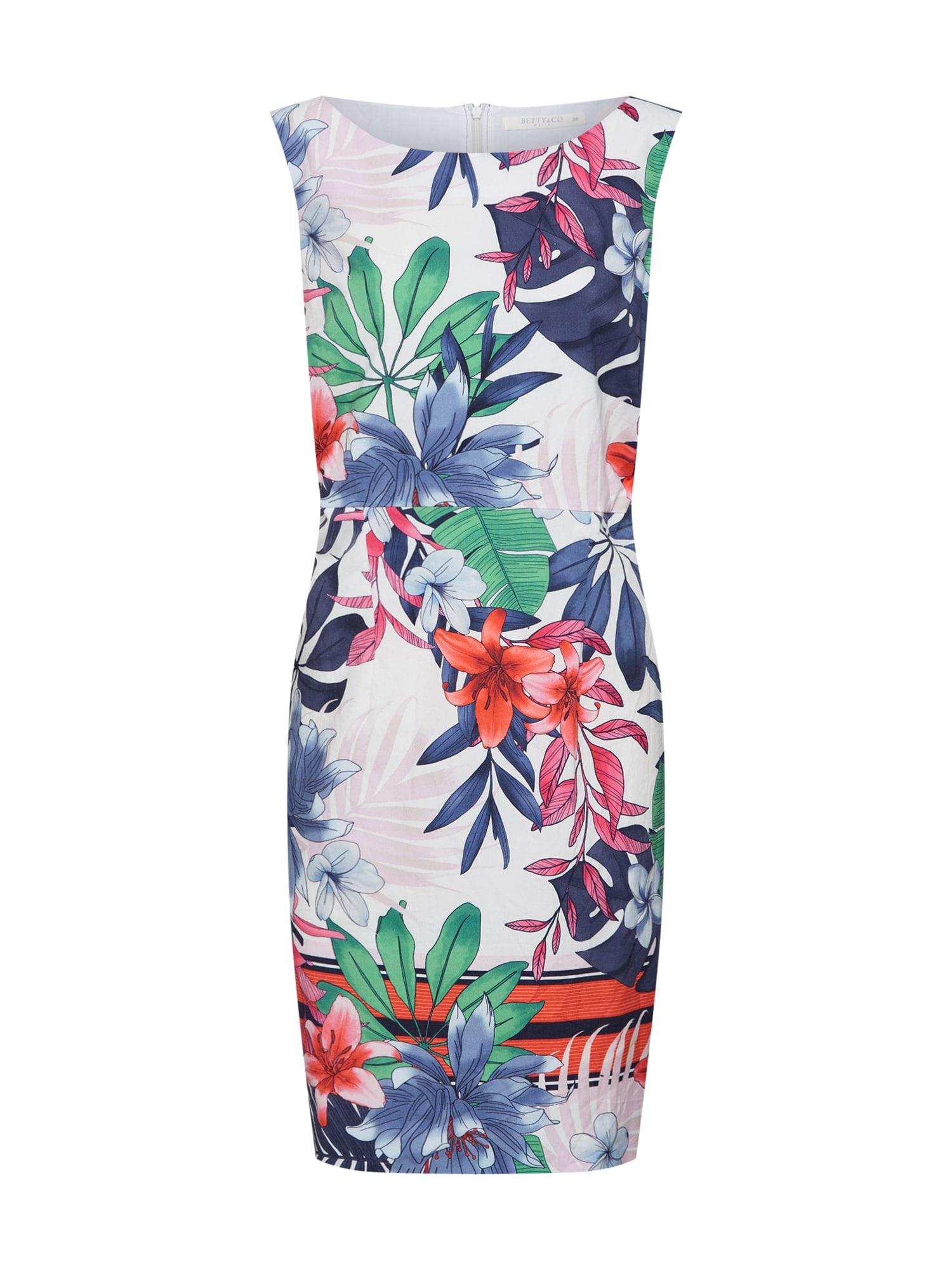 Letní šaty mix barev bílá Betty & Co