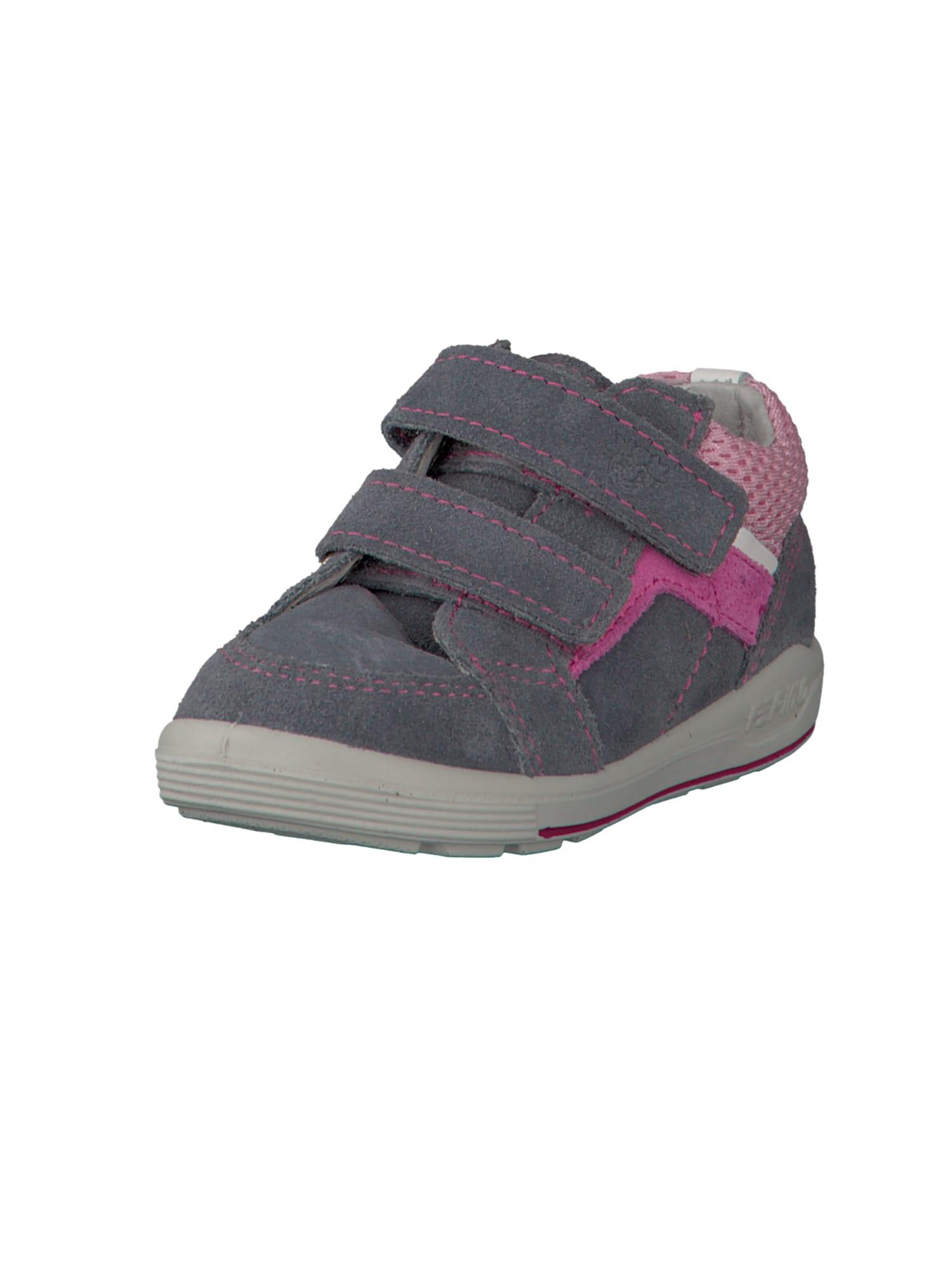 Botičky pro první krůčky Leon tmavě šedá pink růžová bílá Pepino