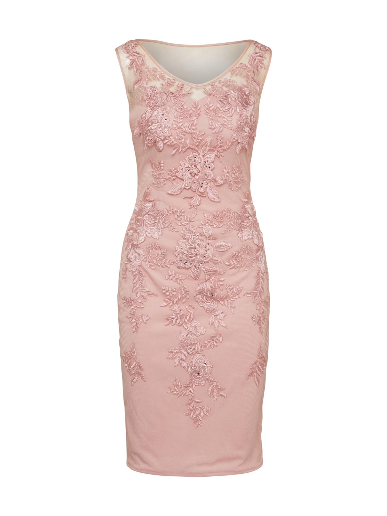 Mascara Sukienka koktajlowa 'MC166117C'  różowy pudrowy