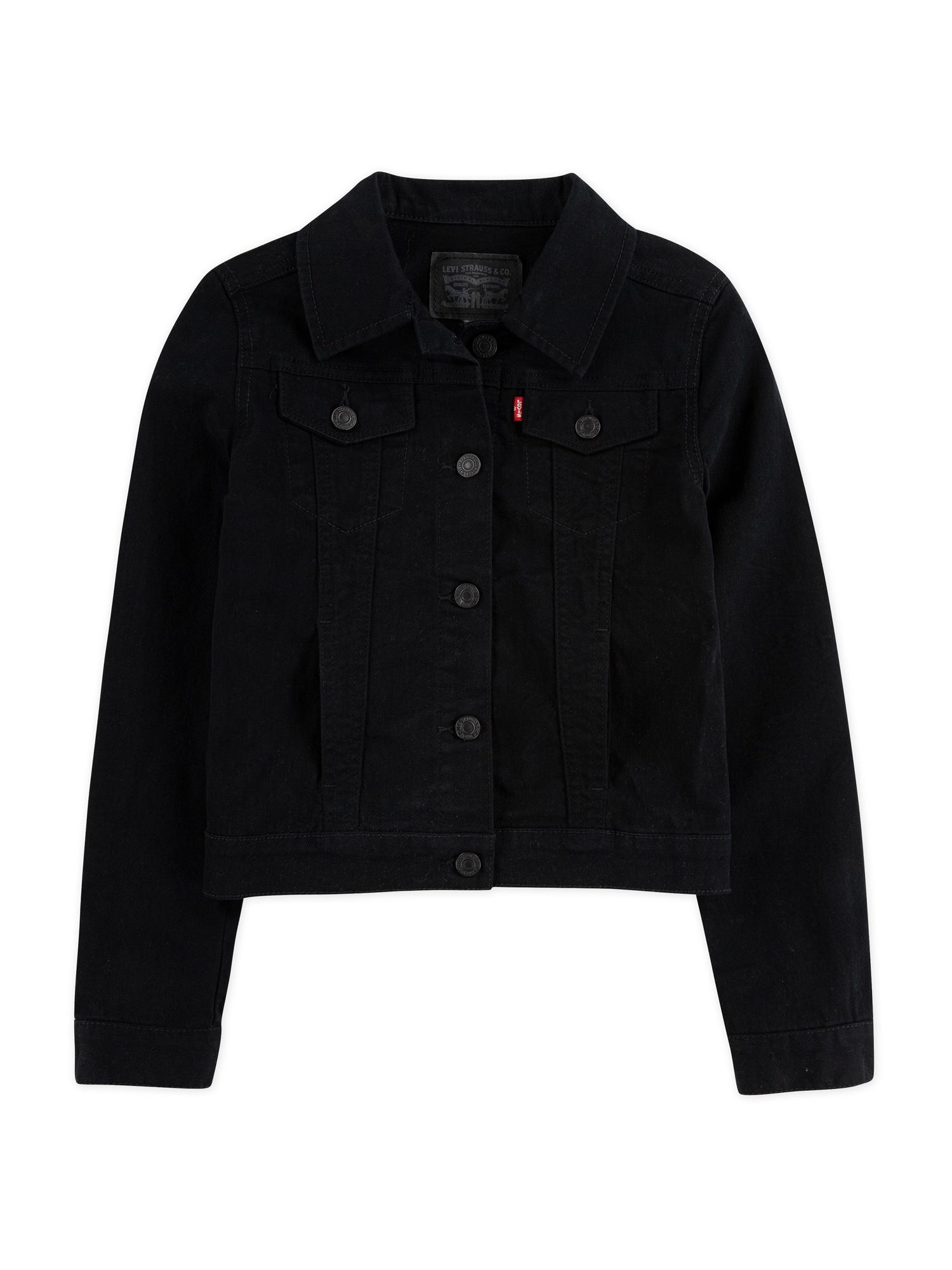 LEVI'S Prechodná bunda 'Trucker Jacket' čierna