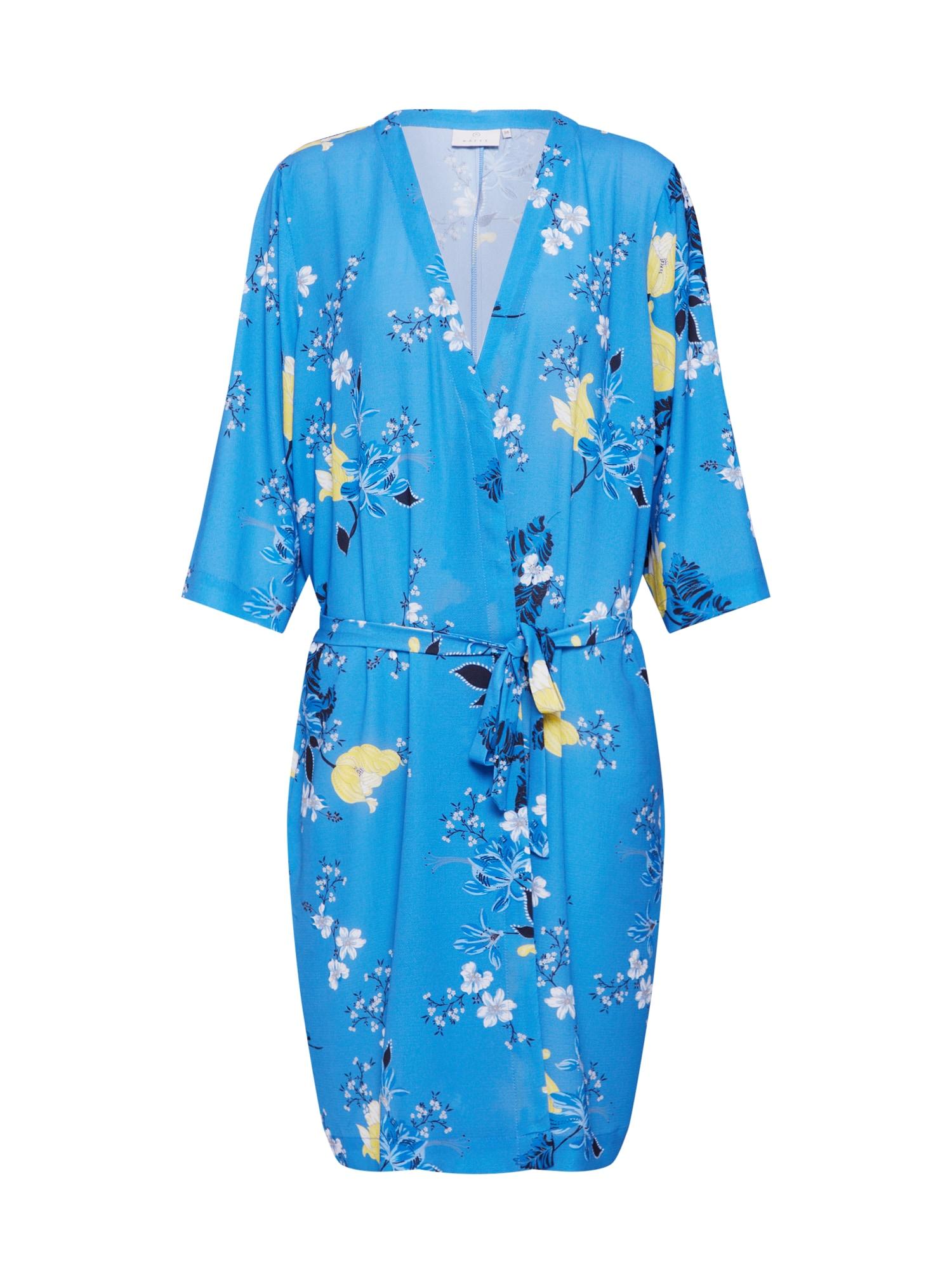 Kimono Jama kouřově modrá Kaffe