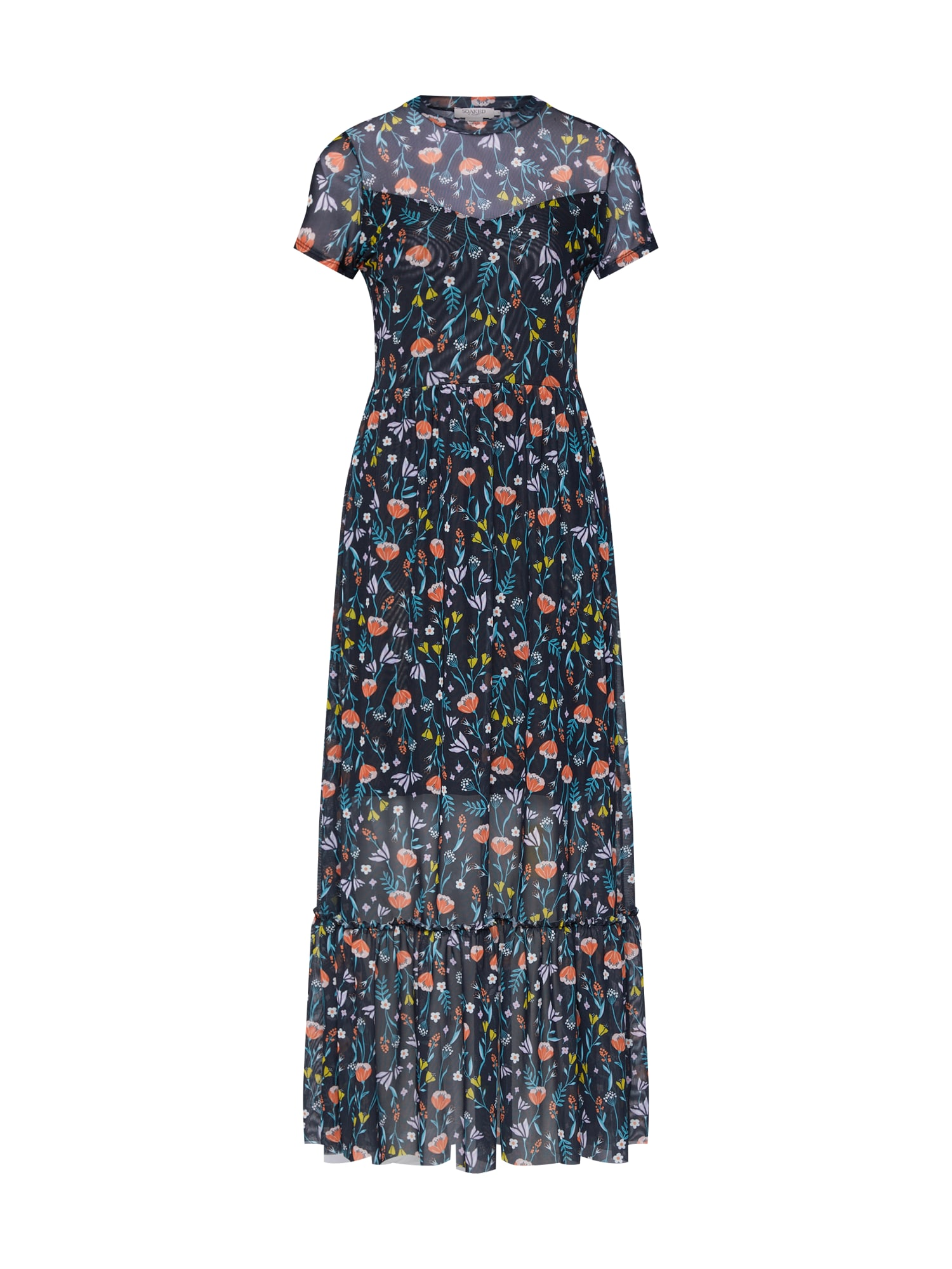 Šaty Ariane mix barev černá SOAKED IN LUXURY