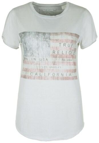 True Religion T-Shirt ´CUT OUT AMERICAN FLAG´ Sale Angebote Grabko