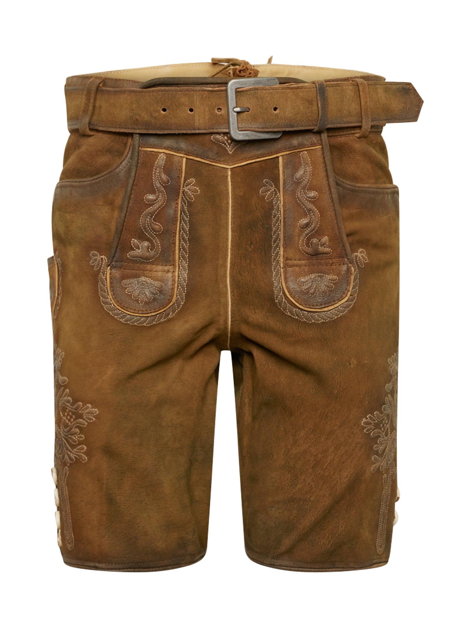 Krojové kalhoty Schorsch hnědá MARJO