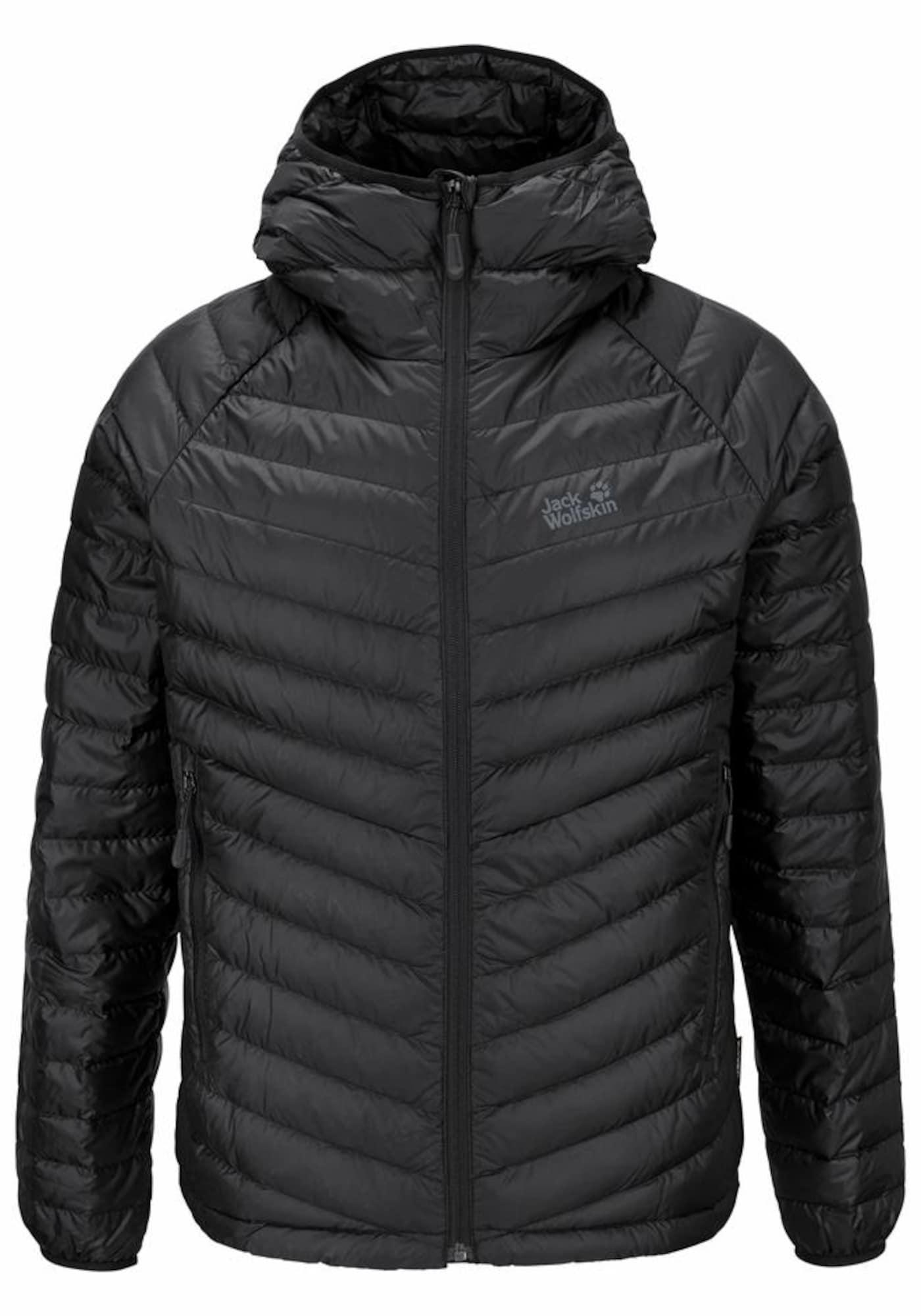 Outdoorová bunda ATMOSPHERE černá JACK WOLFSKIN