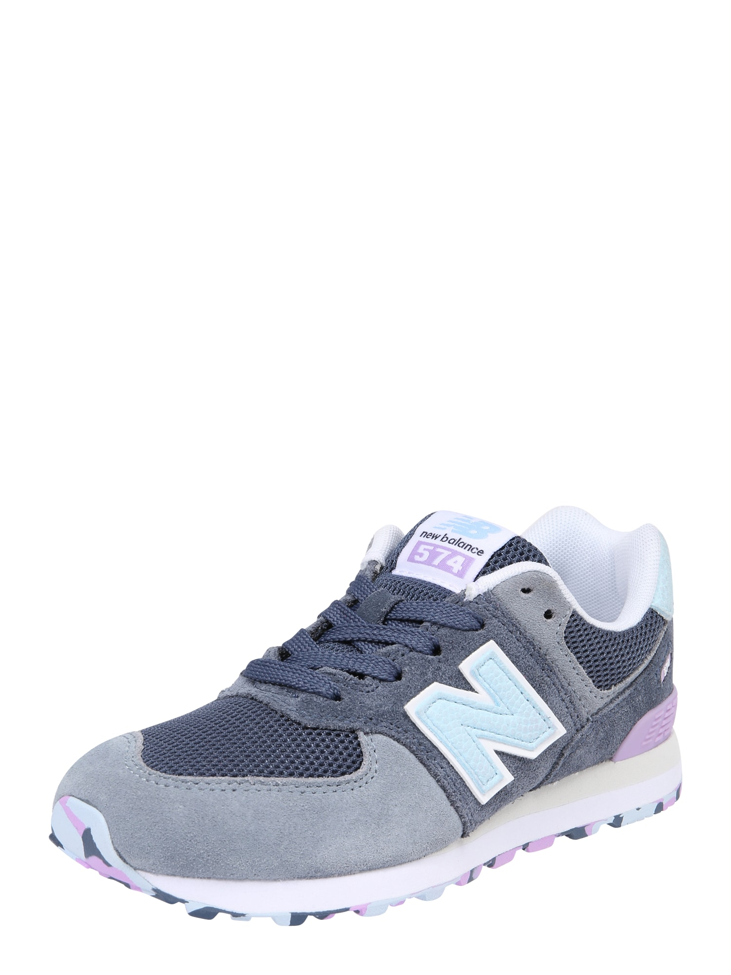 New Balance, Jongens Sportschoen 'PC574 M', smoky blue / lila
