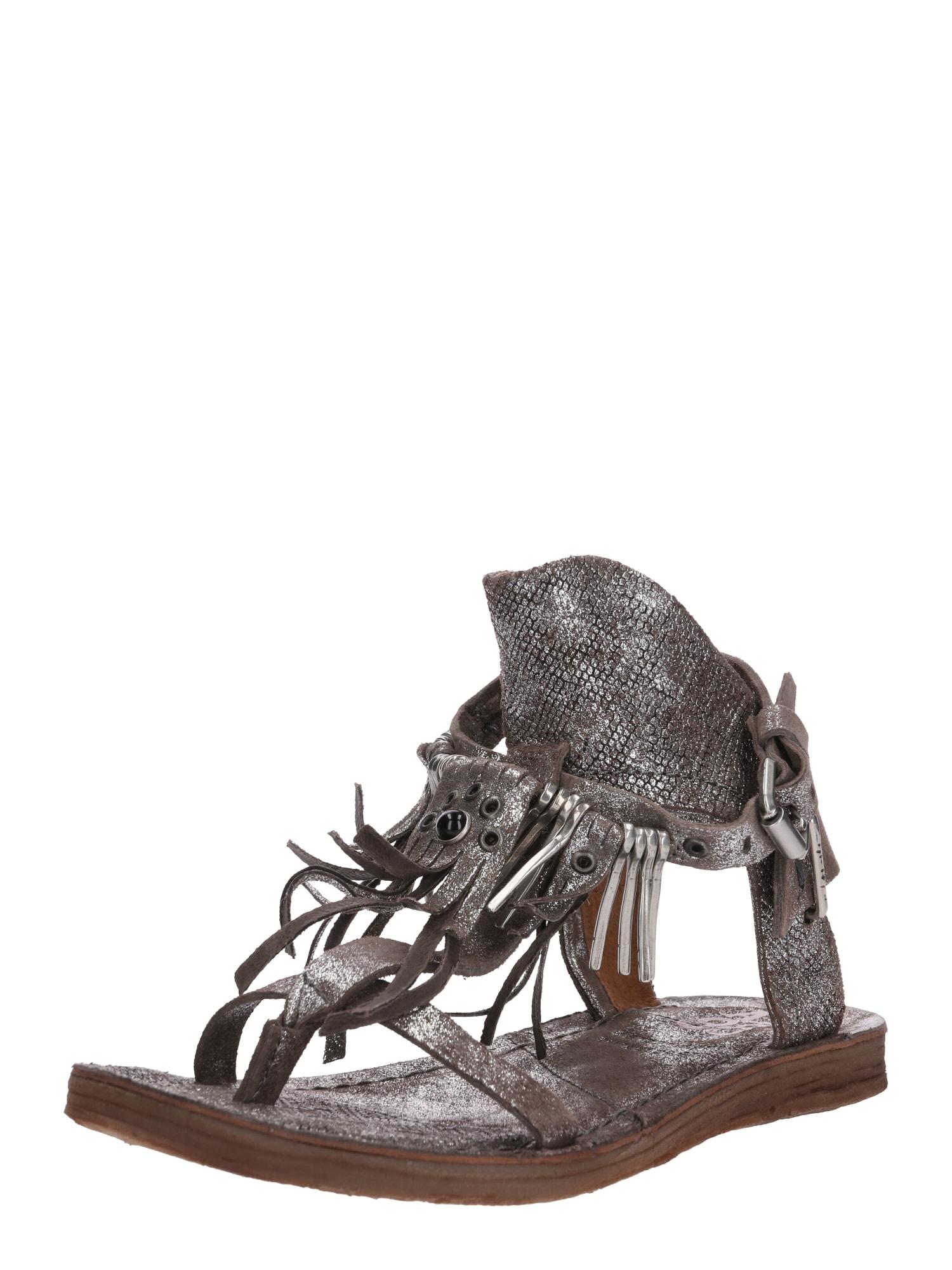Sandály RAMOS stříbrná A.S.98