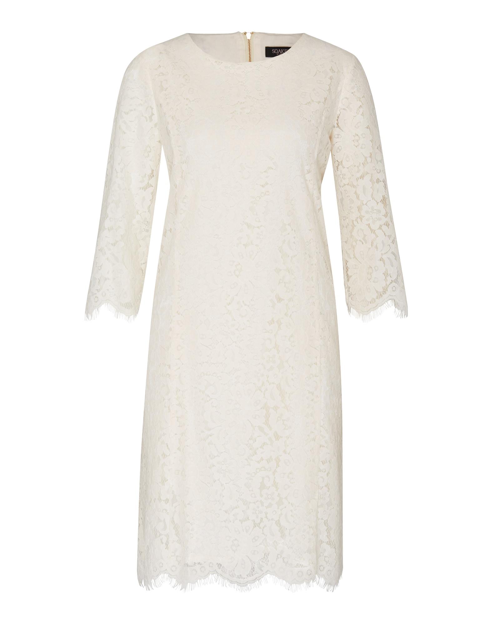Koktejlové šaty Lulla bílá SOAKED IN LUXURY