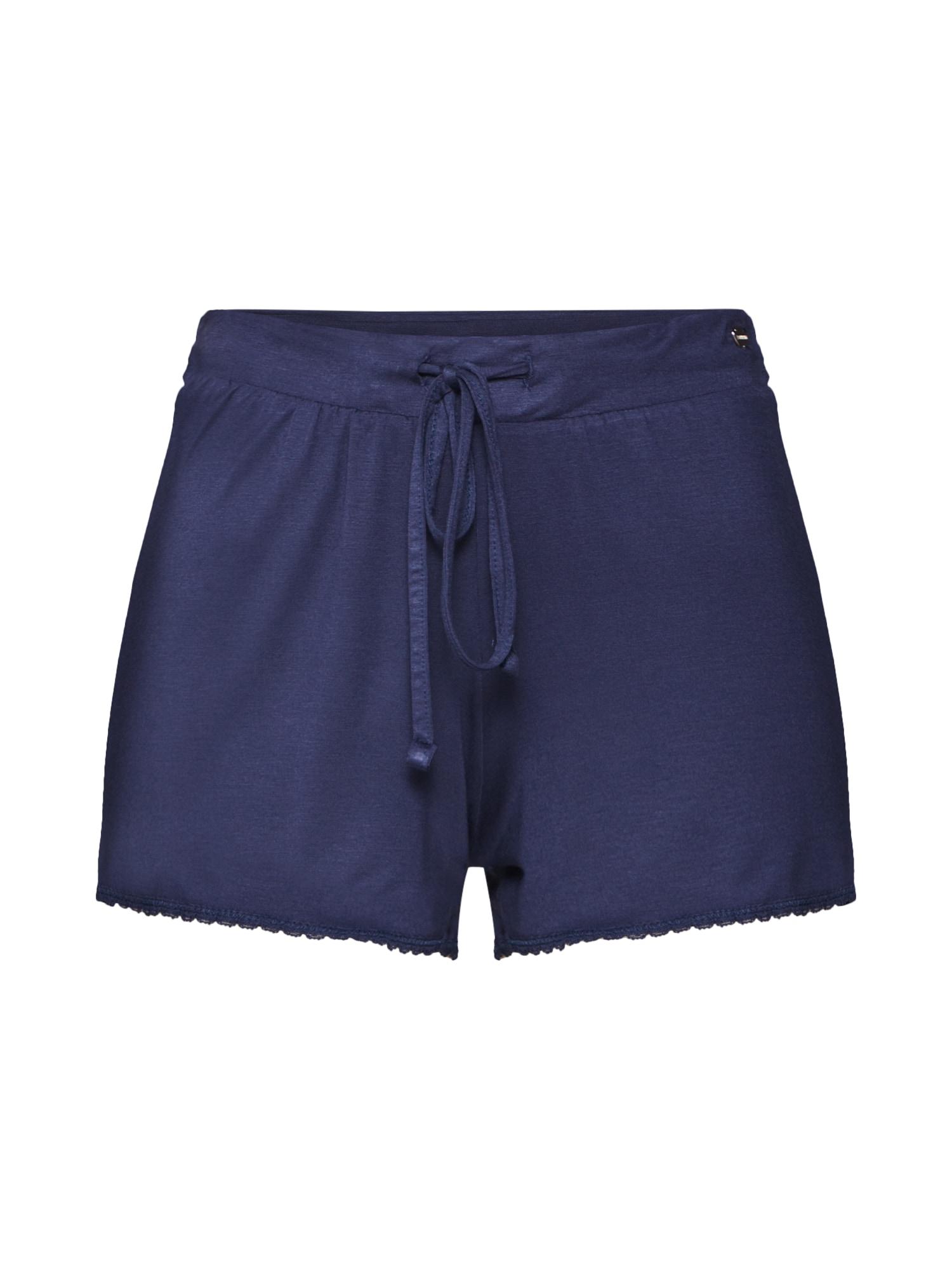 Pyžamové kalhoty AMY CAS NW námořnická modř ESPRIT