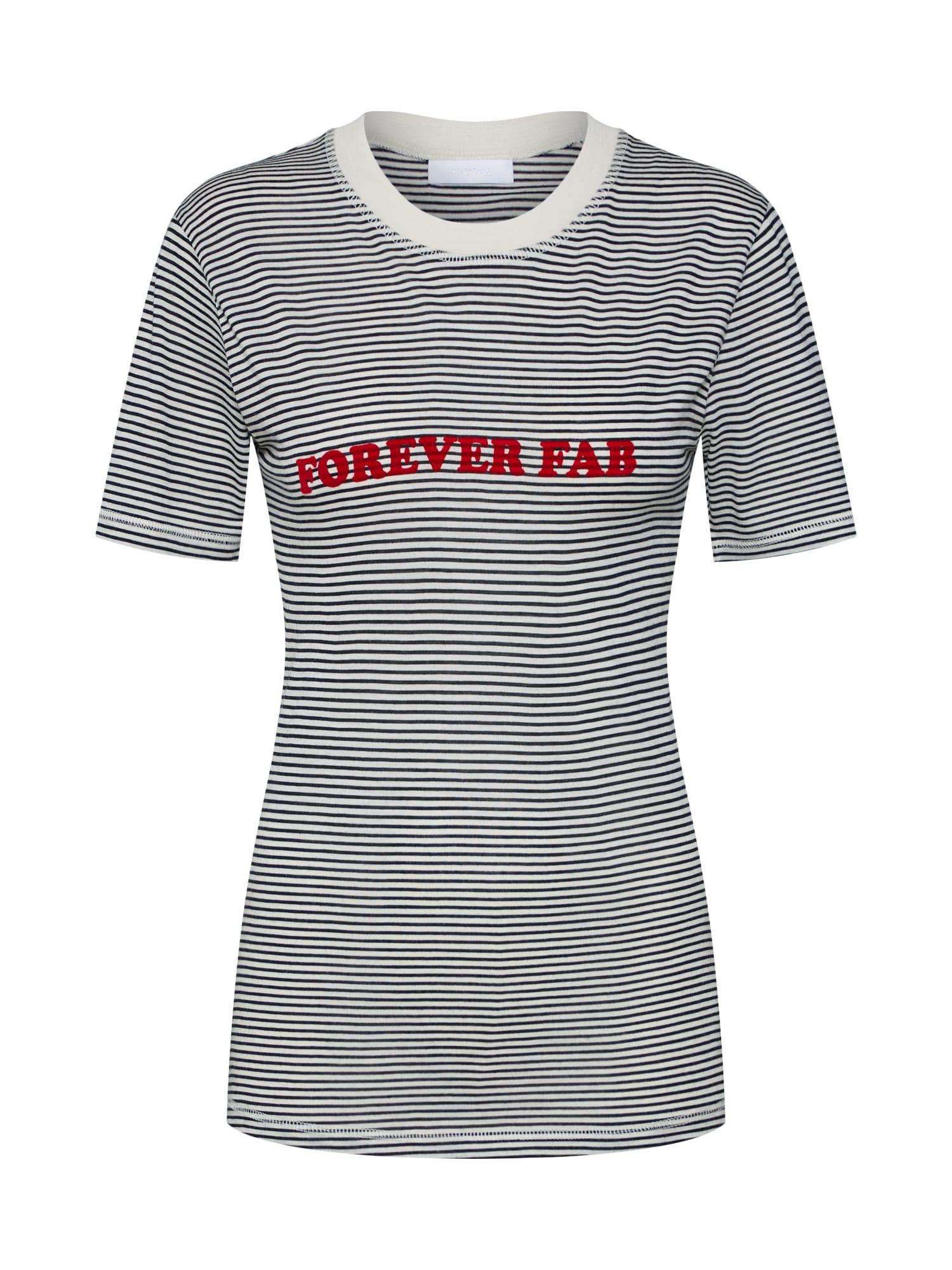 Tričko 2ND Forever Fab černá bílá 2ND DAY