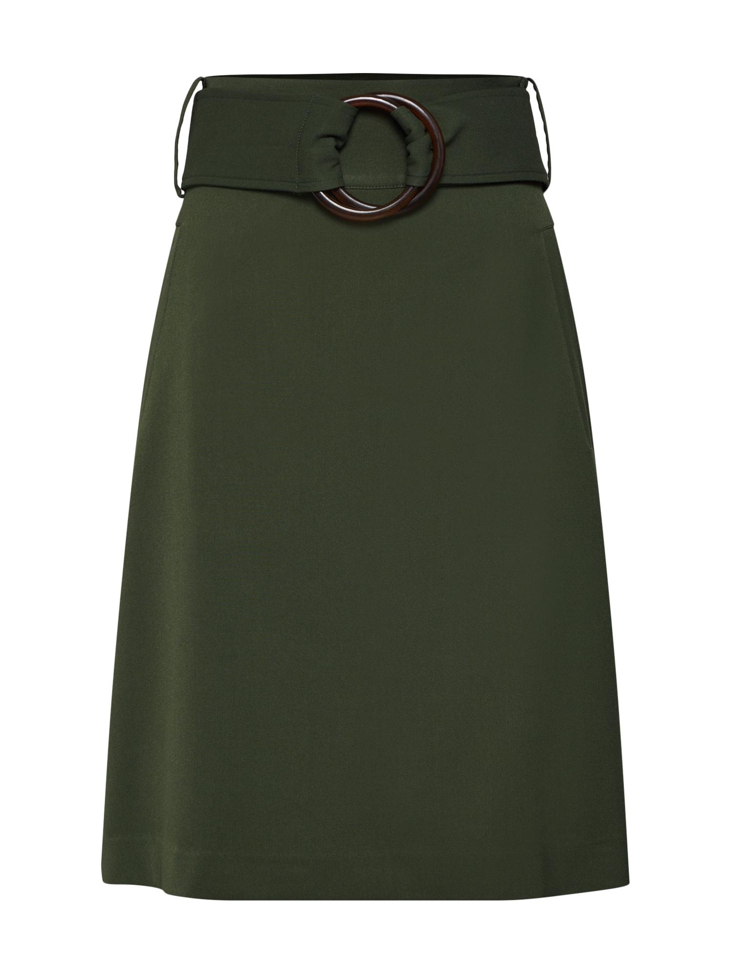 Sukně tmavě zelená Mint&berry