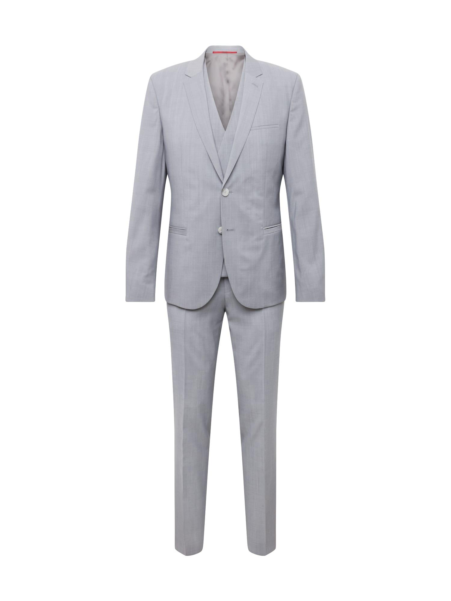 Oblek ArtiHesten193V2 10178011 0 světle šedá HUGO