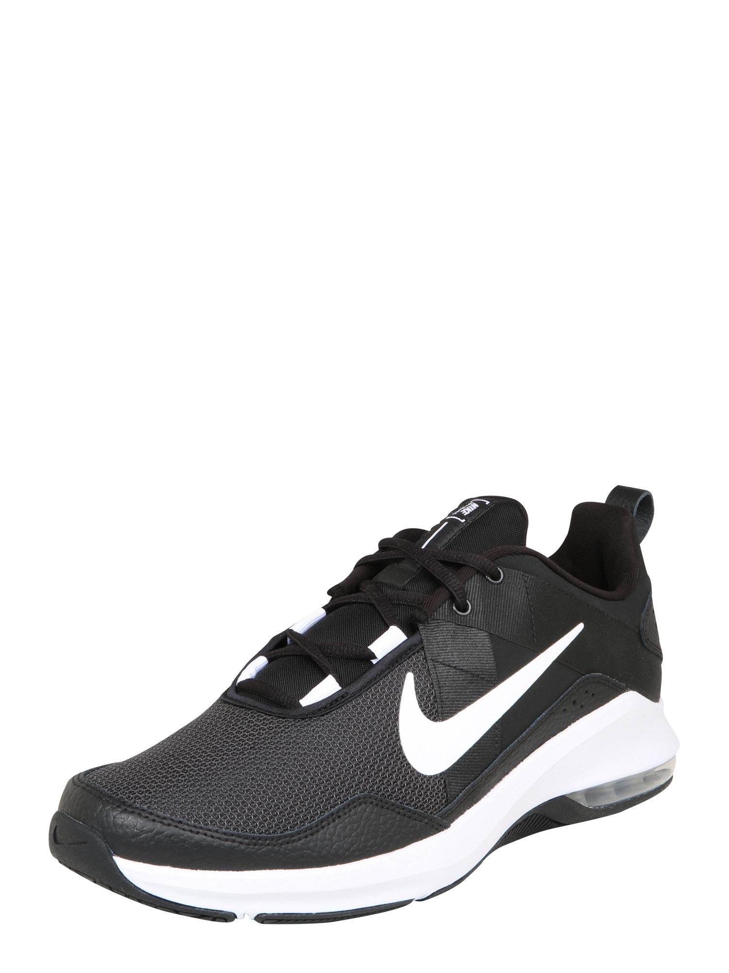 NIKE Bežecká obuv  biela / čierna