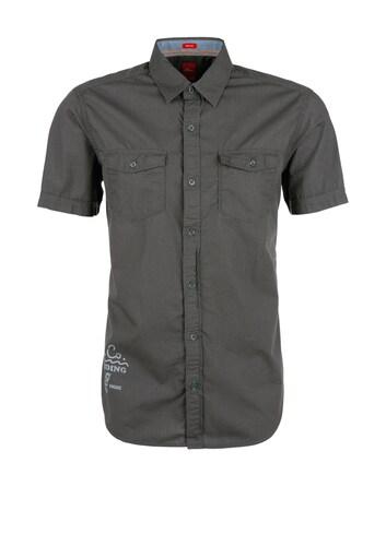 S.Oliver RED LABEL Regular: Hemd mit Nadelstreifen Sale Angebote Felixsee