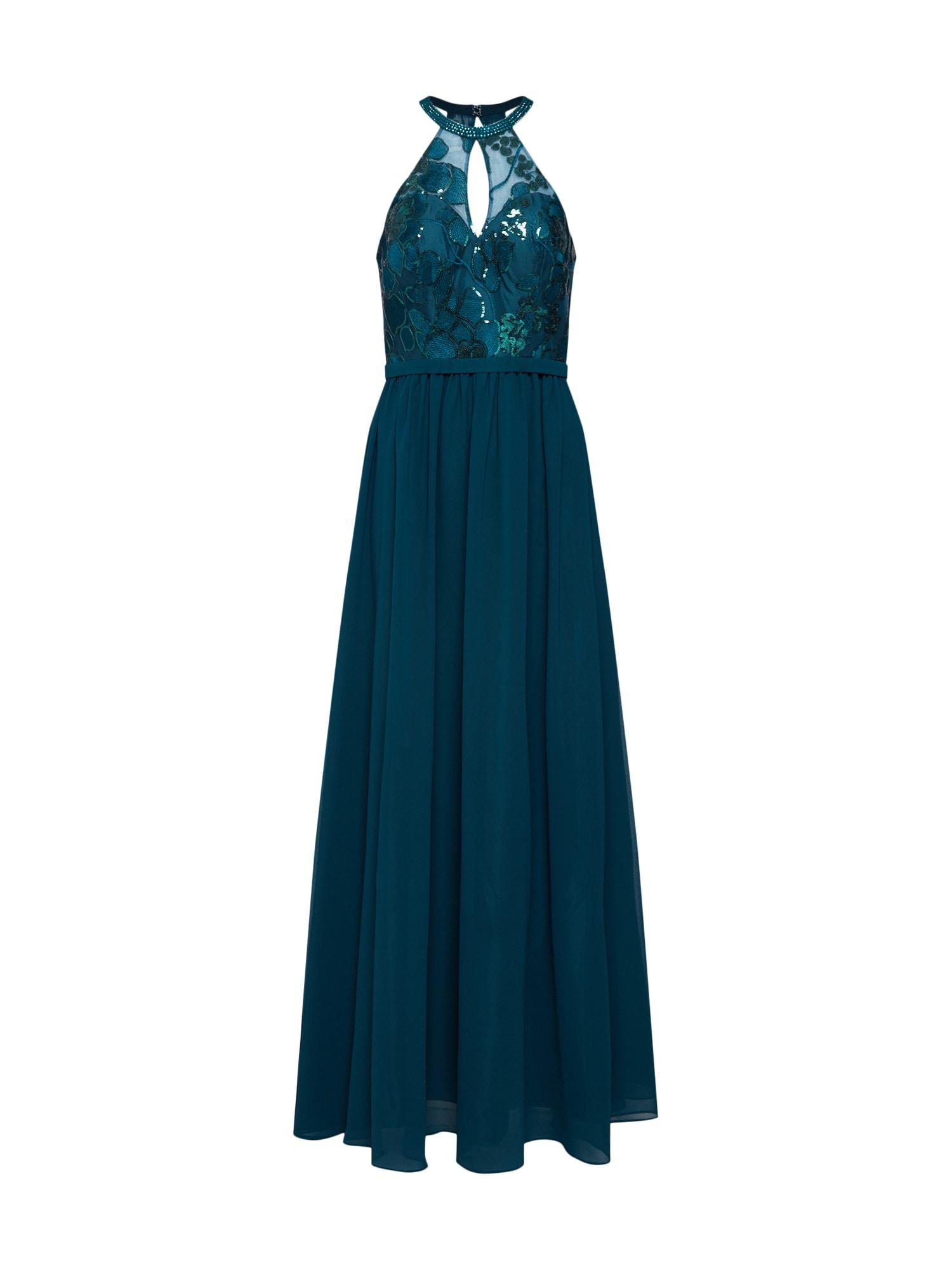 Společenské šaty smaragdová Mascara