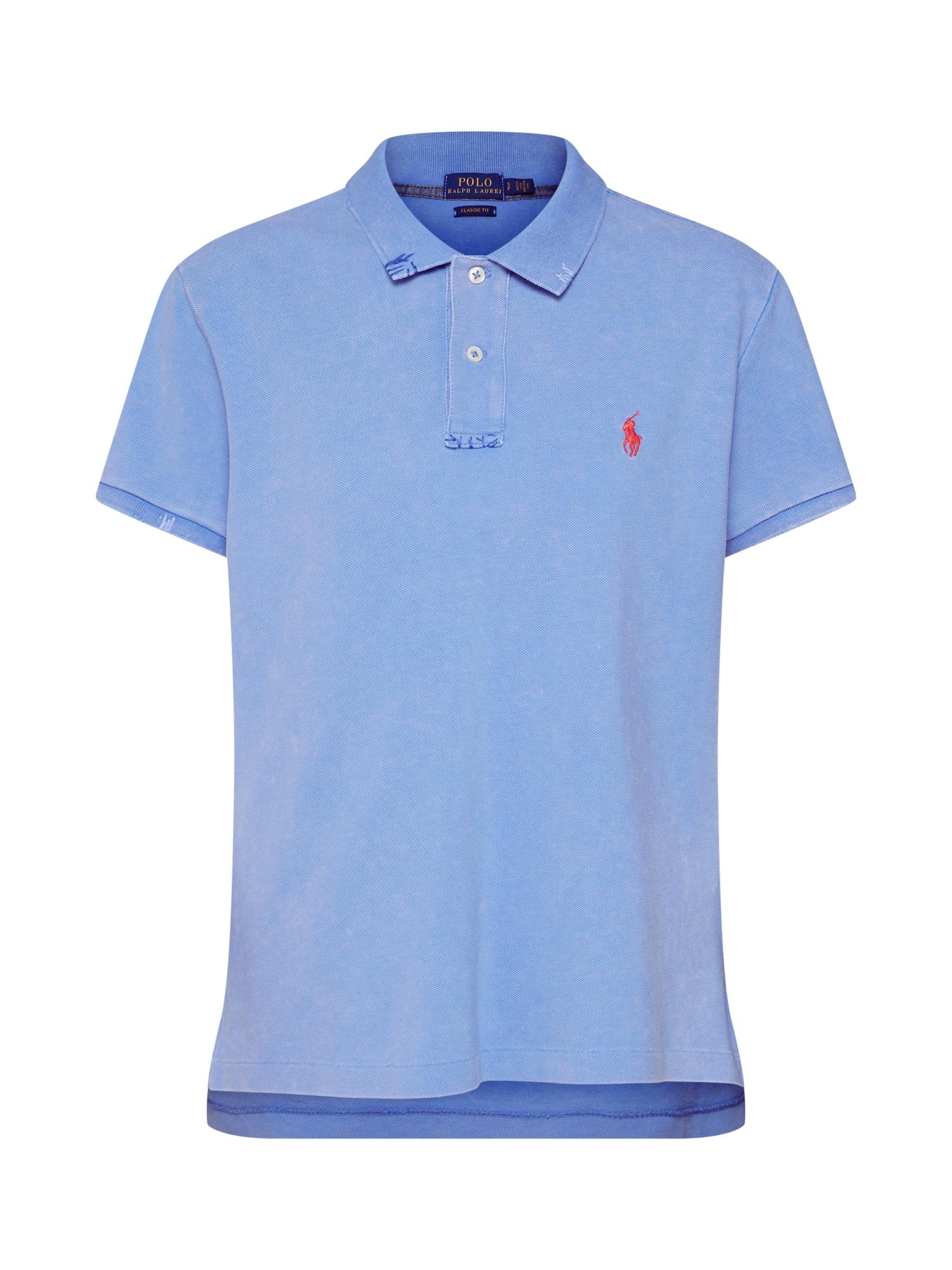 Tričko modrá červená POLO RALPH LAUREN