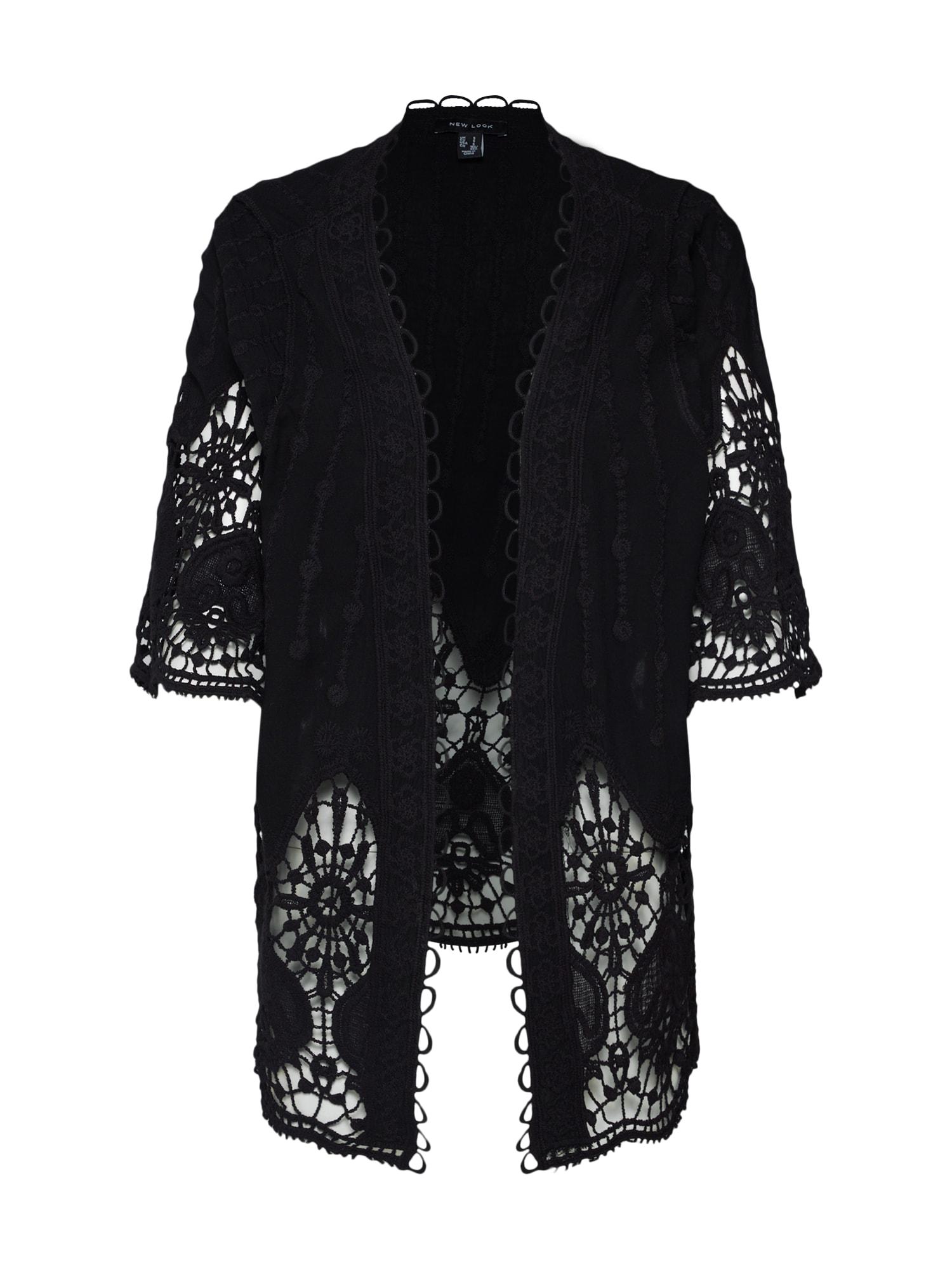 Kimono černá NEW LOOK
