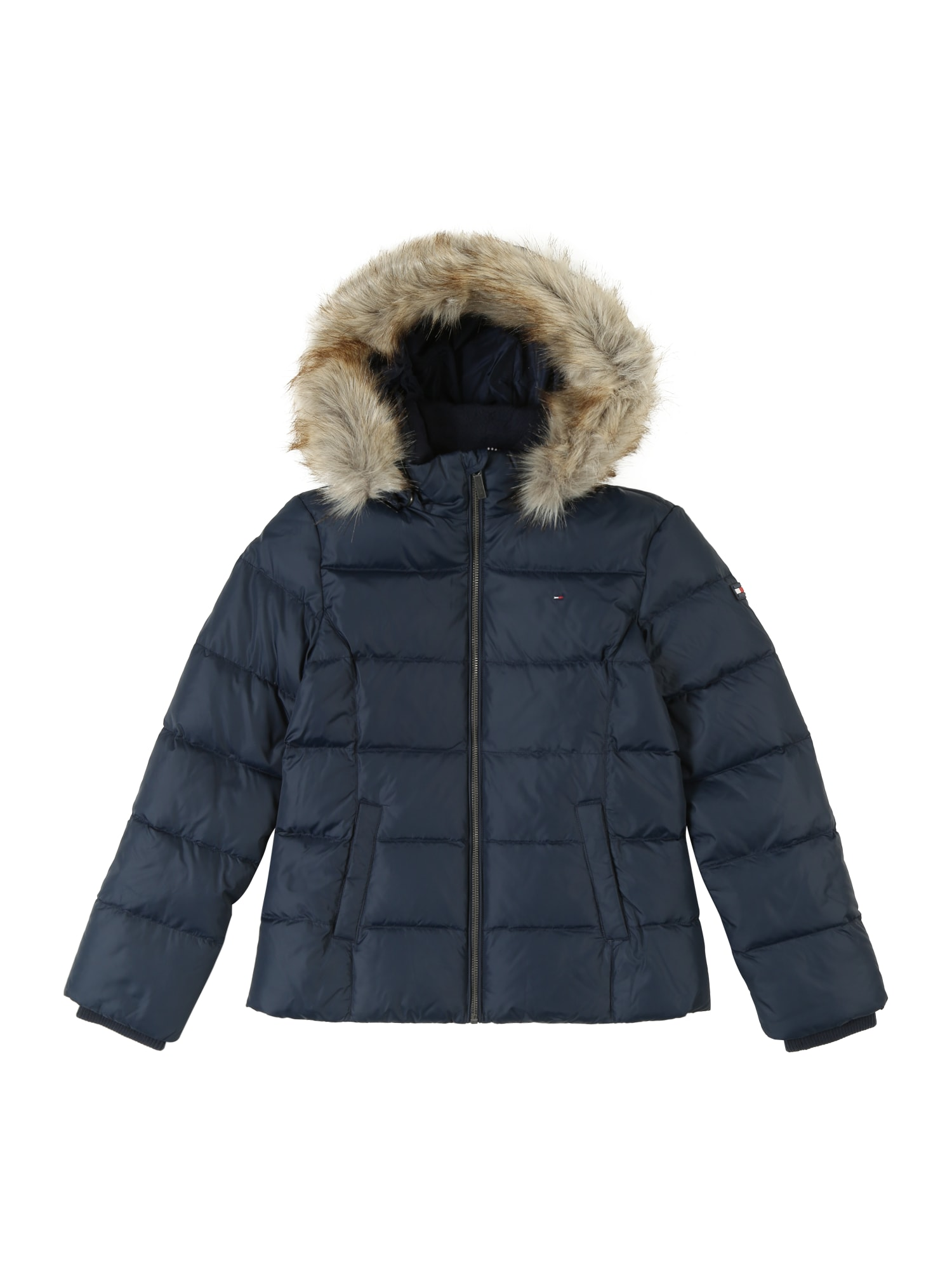 Přechodná bunda ESSENTIAL BASIC tmavě modrá TOMMY HILFIGER