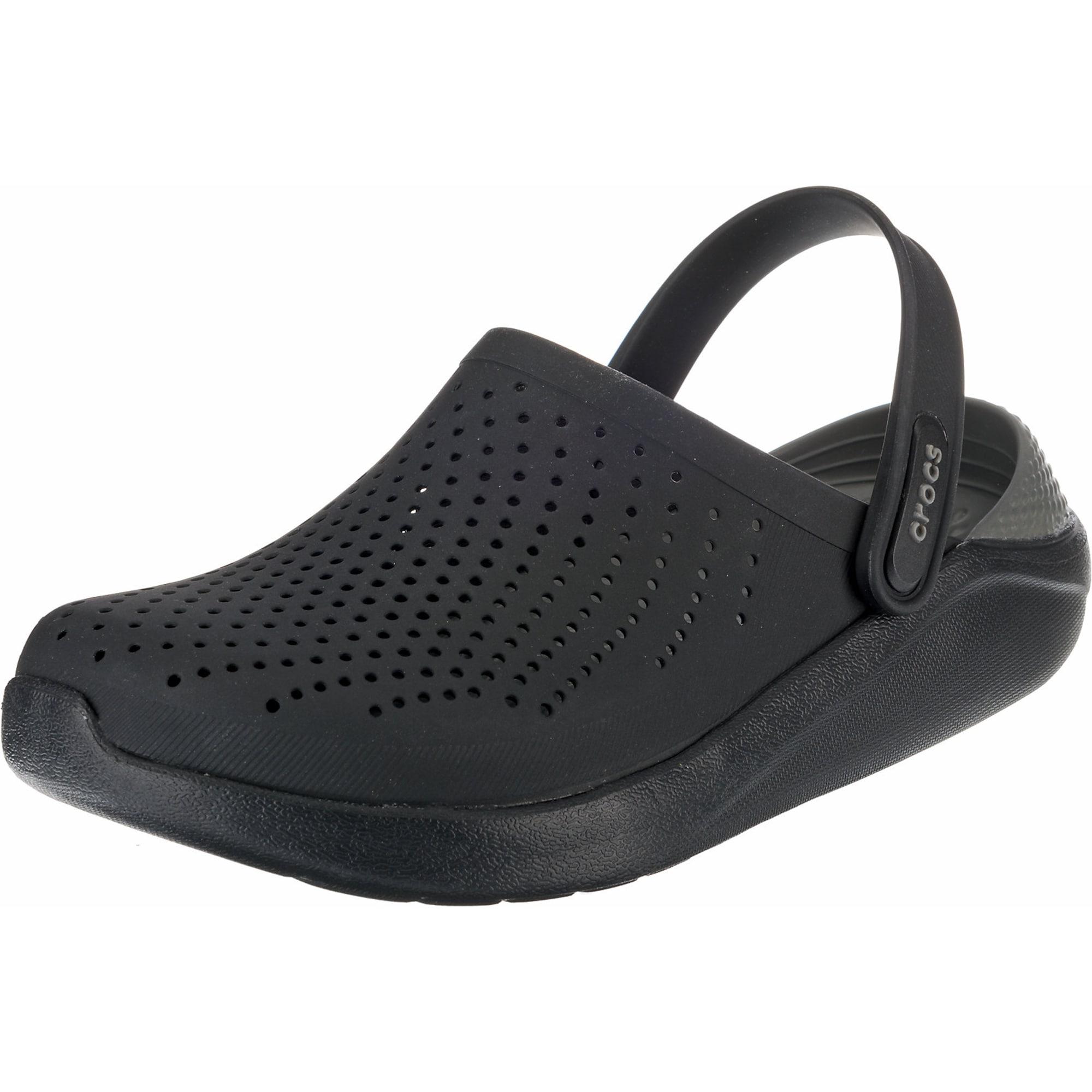 Clogs 'LiteRide Clog Blk/SGy'   Schuhe > Clogs & Pantoletten > Clogs   Crocs