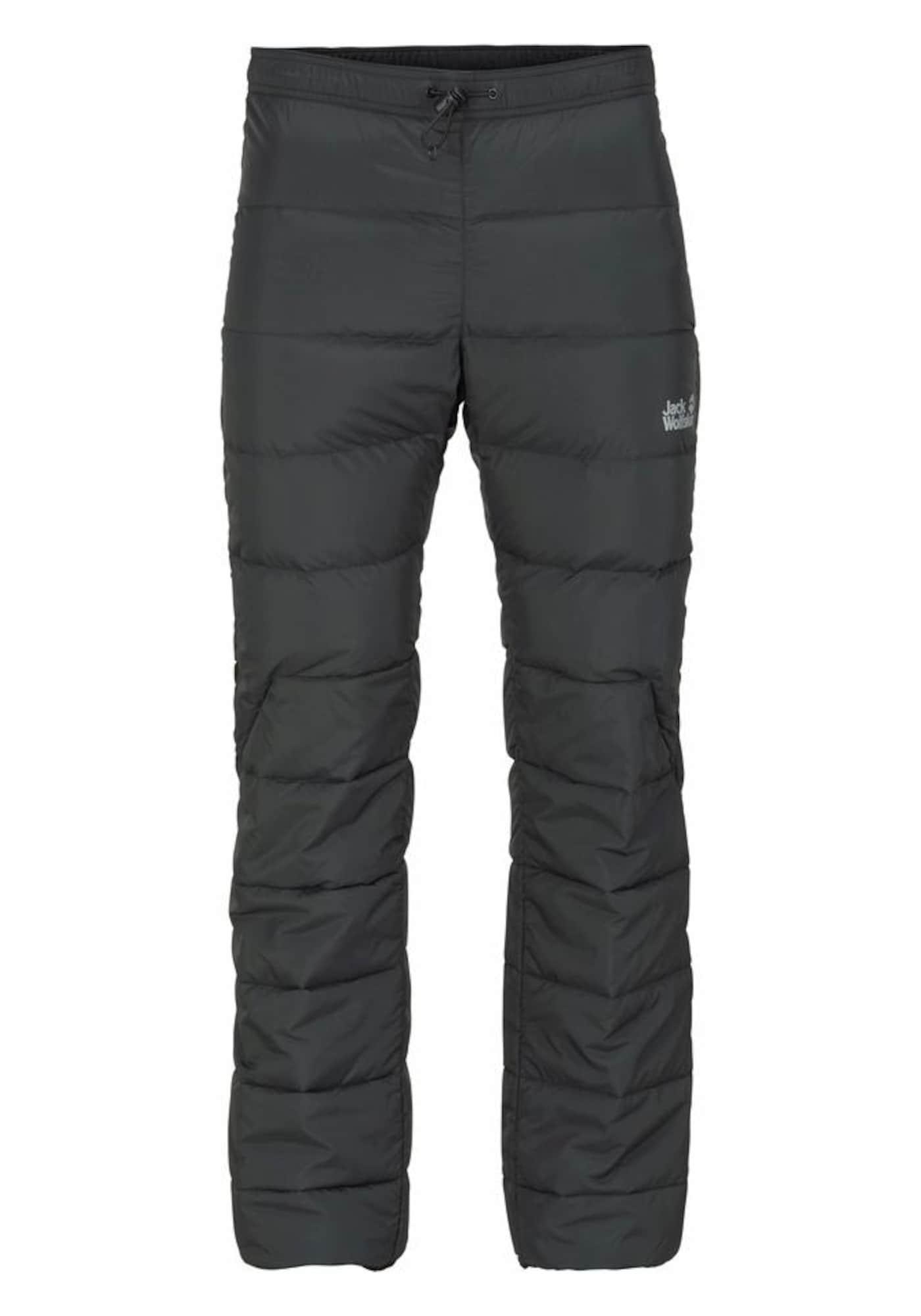 Outdoorové kalhoty ATMOSPHERE PANTS černá JACK WOLFSKIN