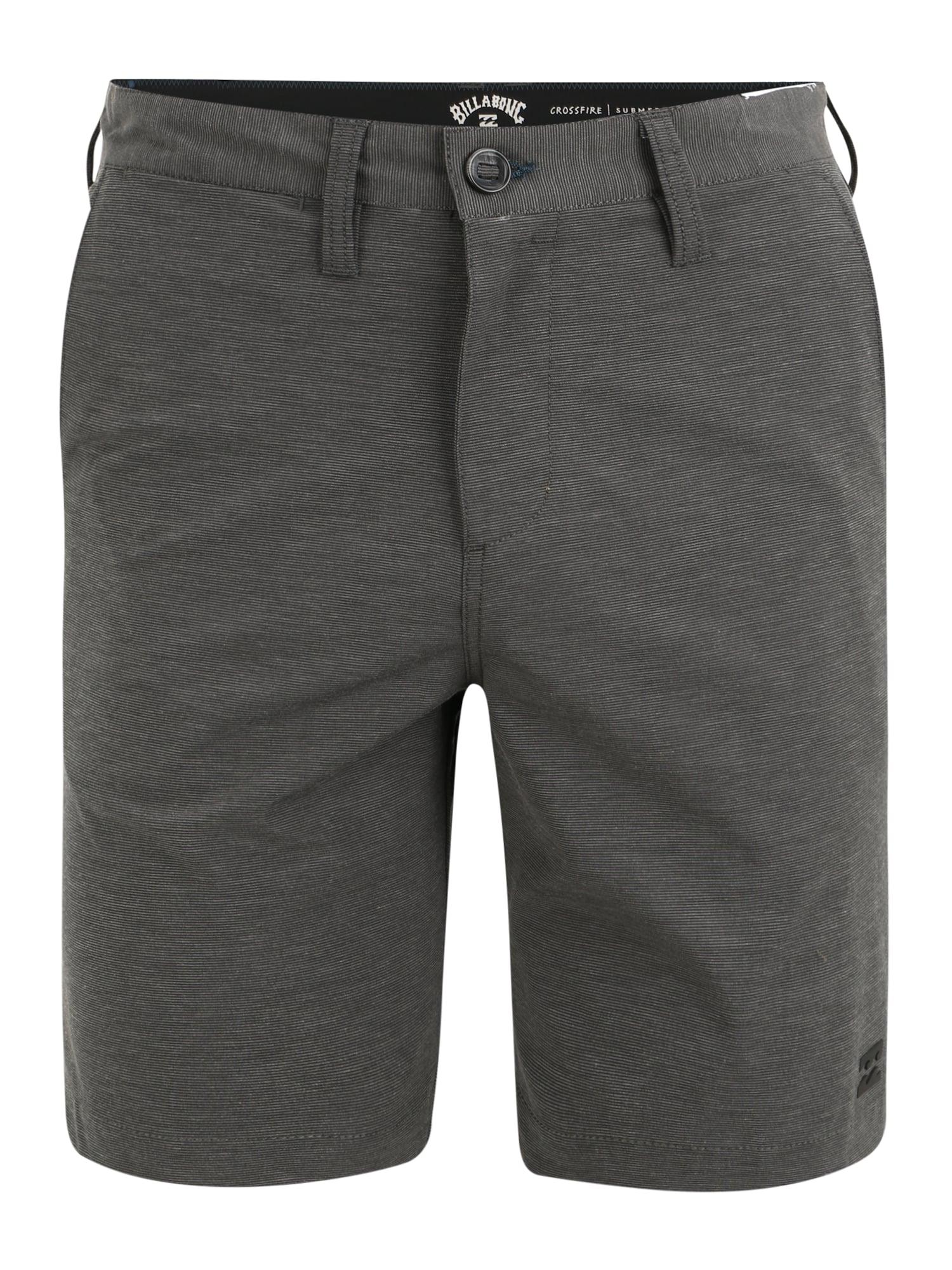 BILLABONG Sportovní kalhoty 'Crossfire'  tmavě šedá