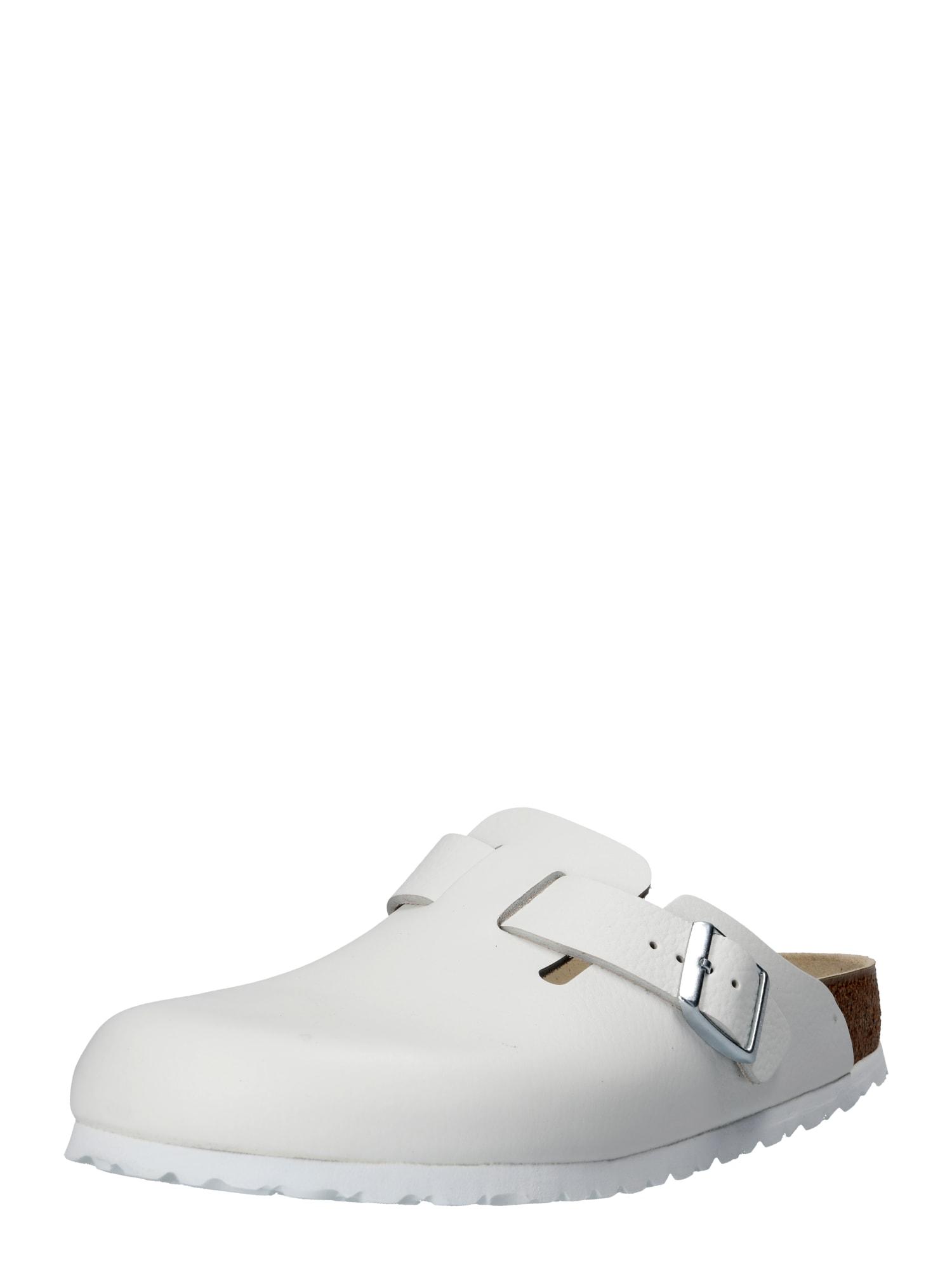 Pantofle BOSTON bílá BIRKENSTOCK
