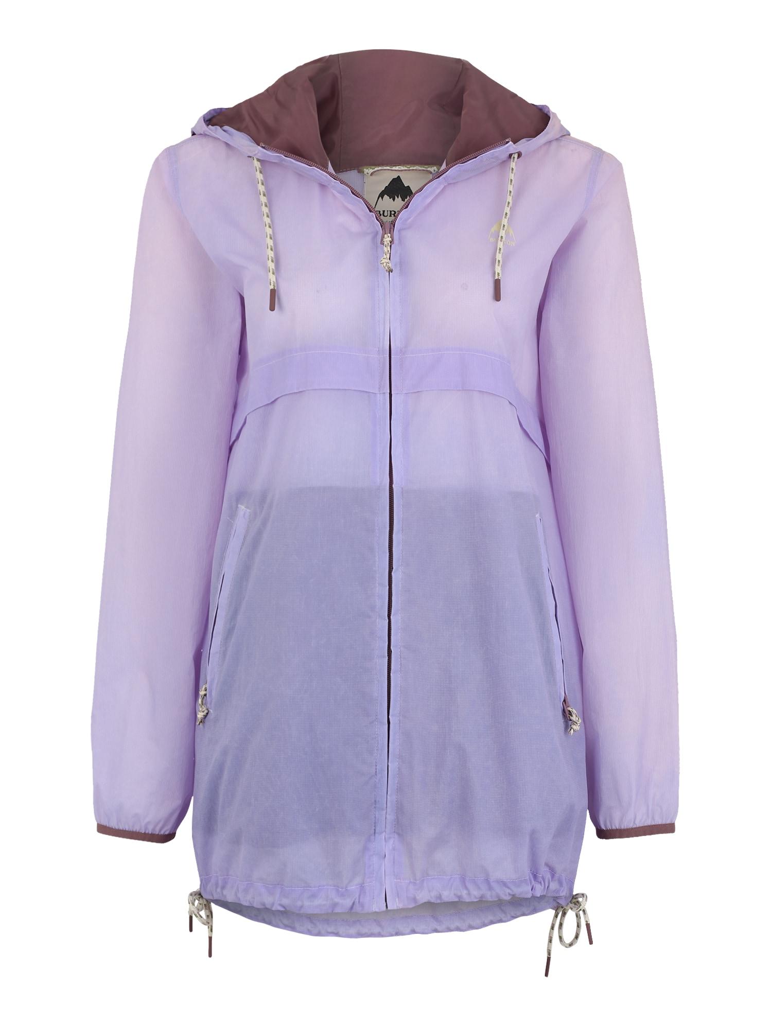 Outdoorová bunda Hazlett Packable fialová BURTON