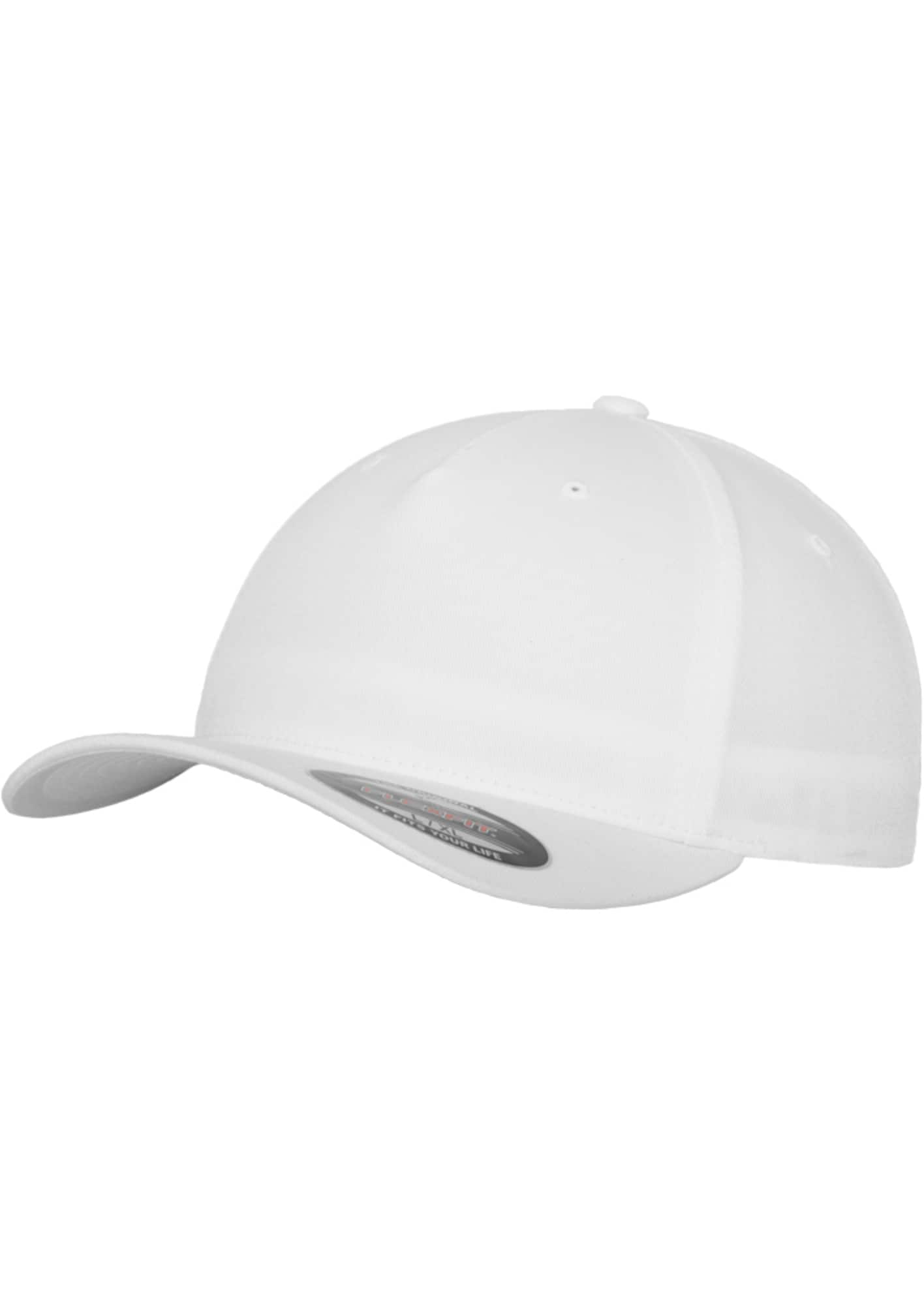 Flex Cap ' 5 Panel ' | Accessoires > Caps > Flex Caps | Weiß | Flexfit