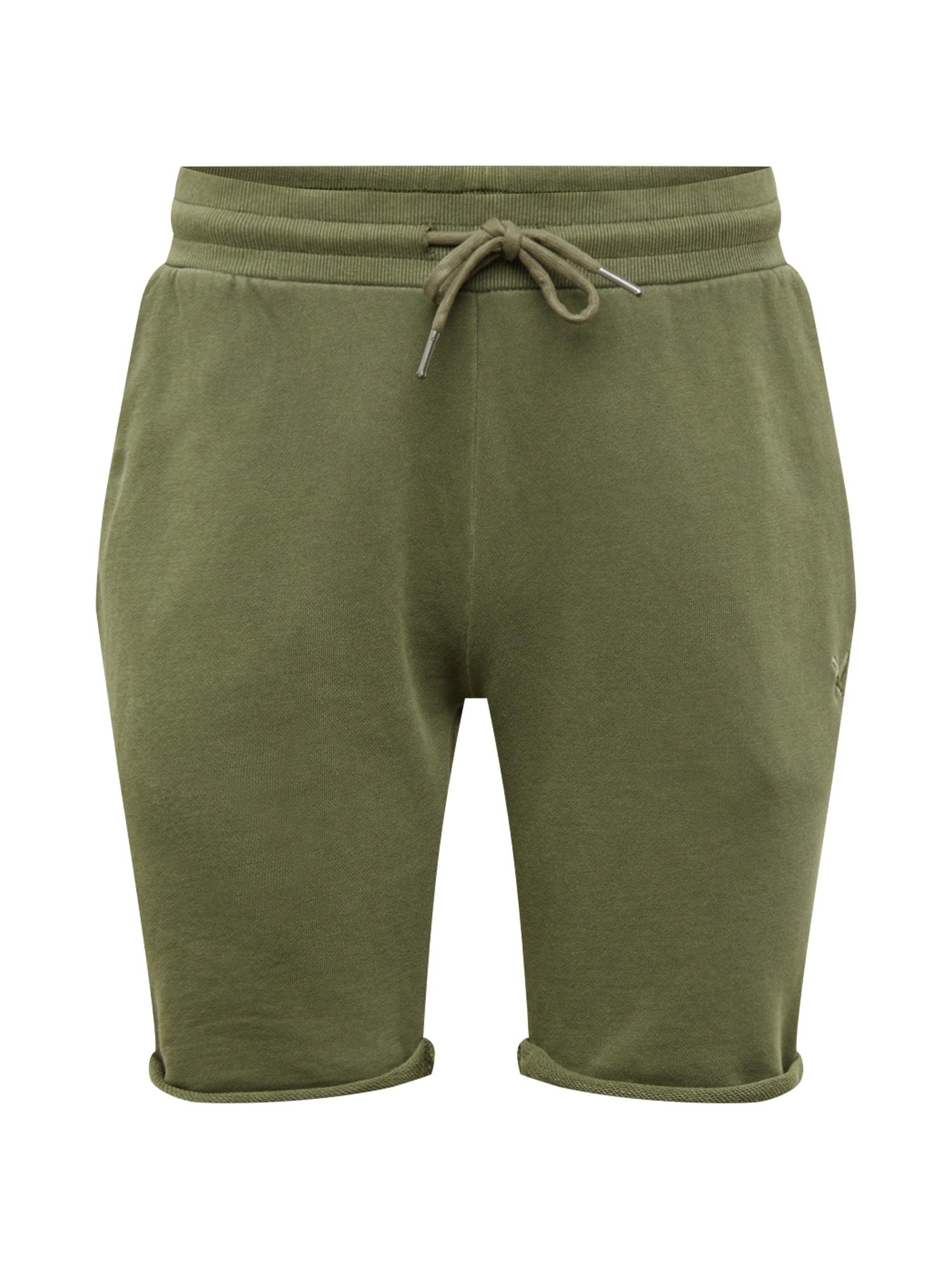 Kalhoty Classic olivová Distortedpeople
