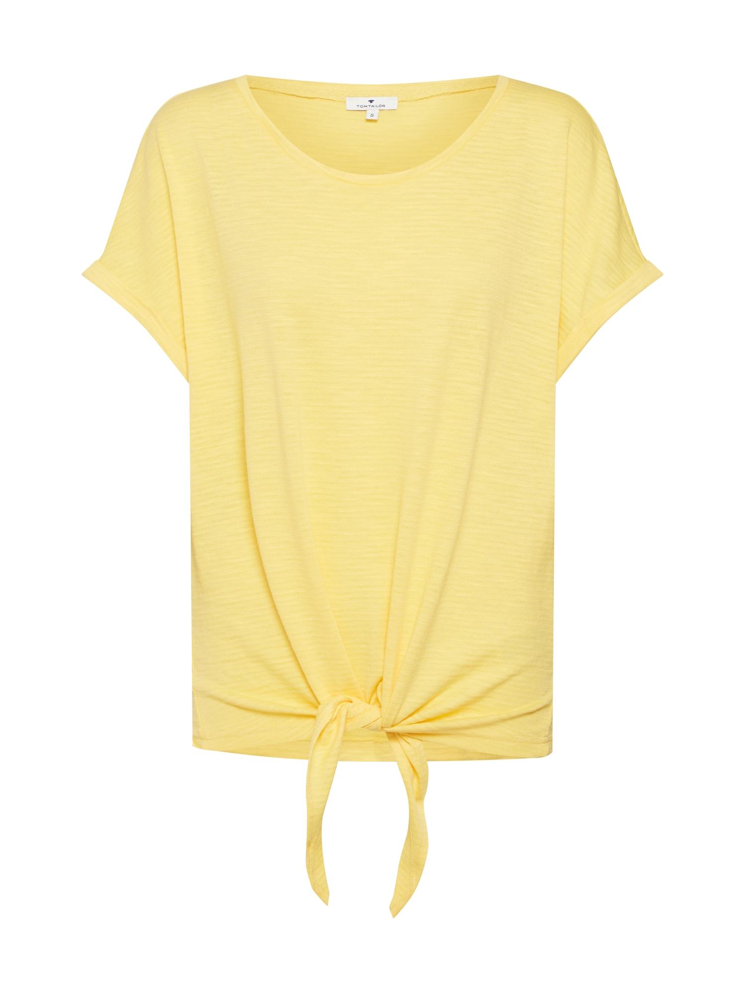 Tričko žlutá TOM TAILOR