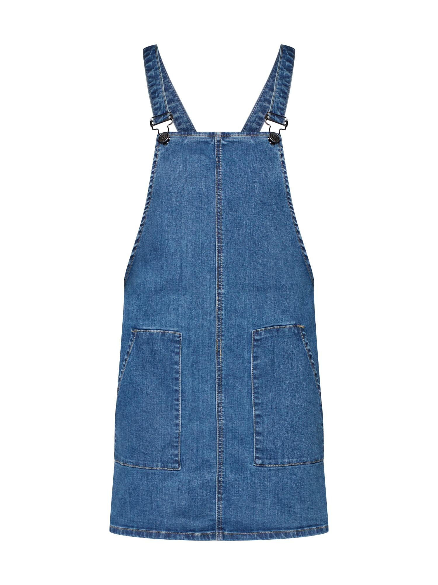 Laclová sukně modrá džínovina SISTERS POINT