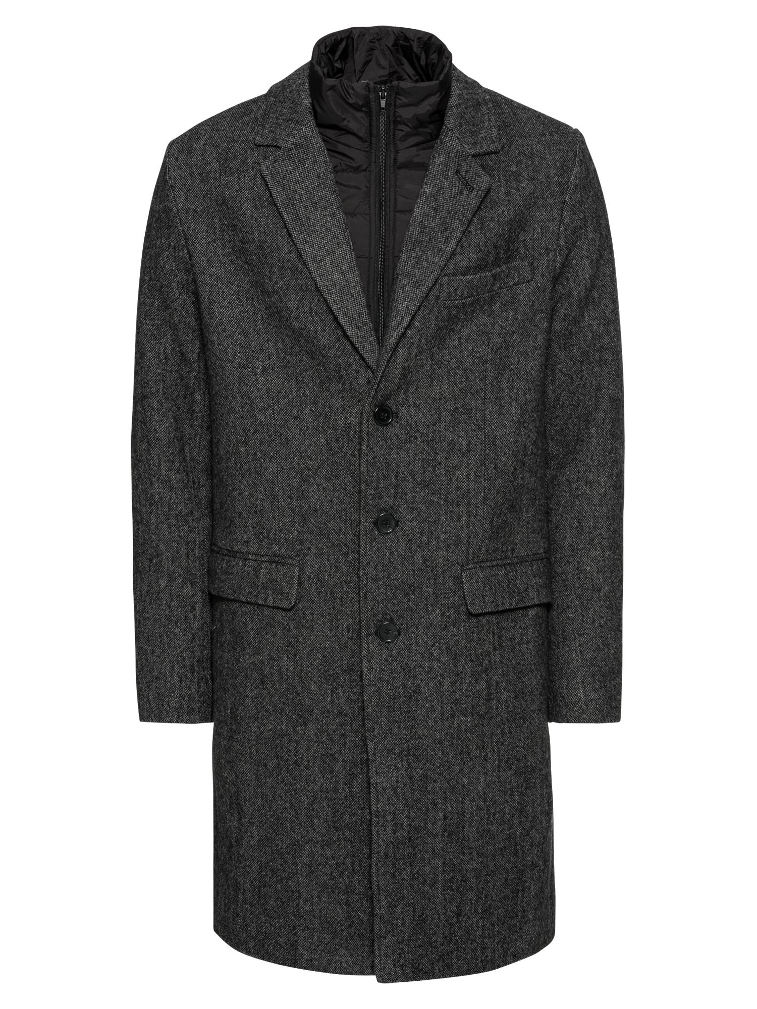 Přechodný kabát Repeat Winter Coat šedá Pier One