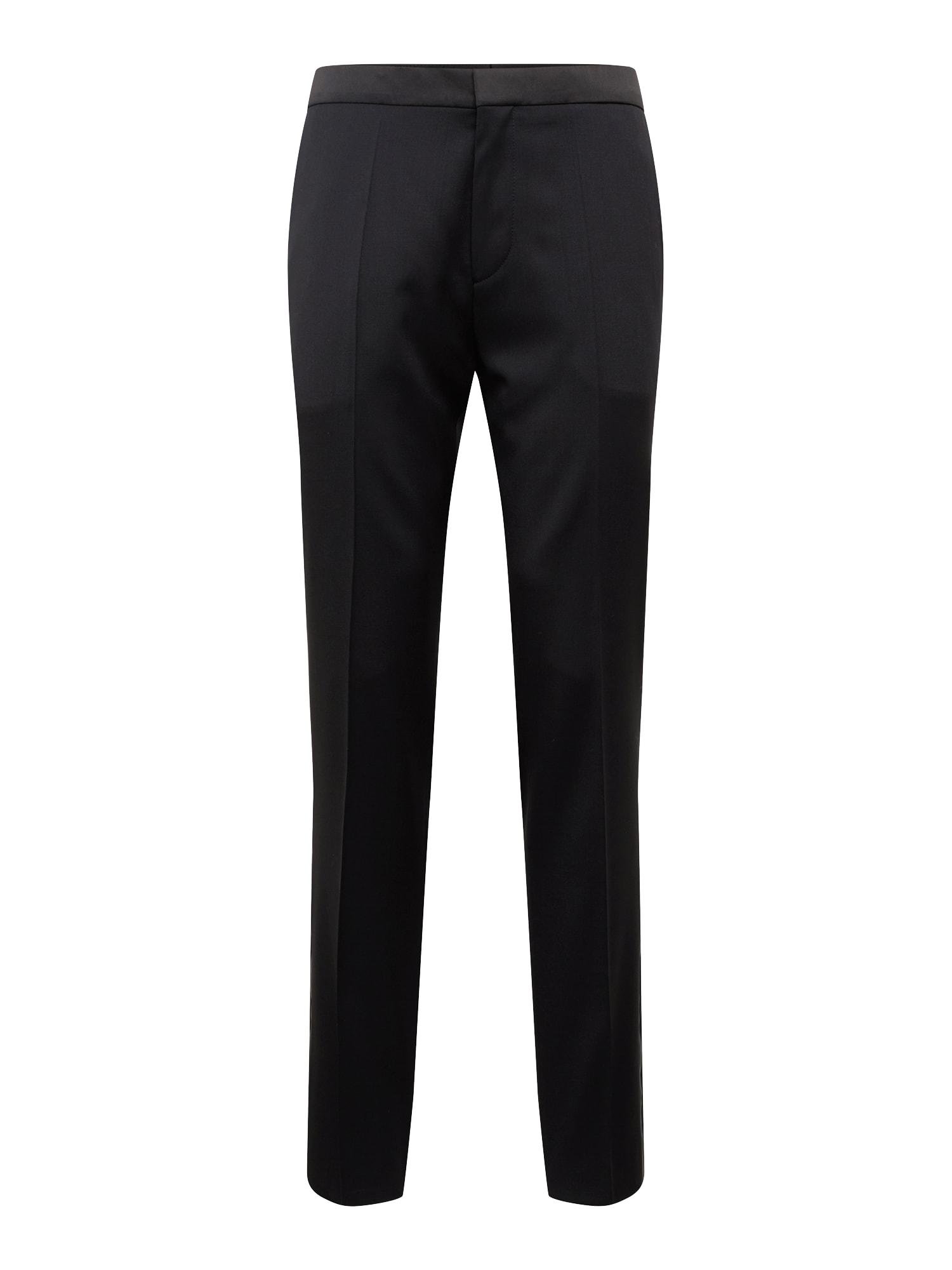 Kalhoty s puky Hesten191E2 10199142 01 černá HUGO