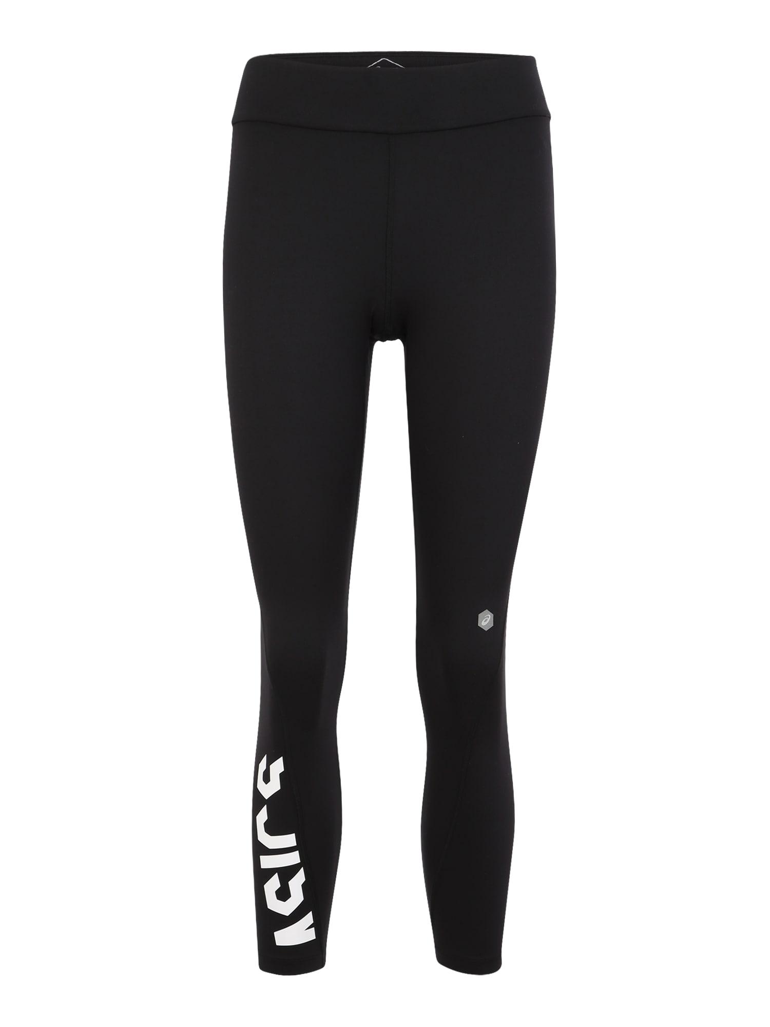 Sportovní kalhoty ESNT 78 TIGHT černá bílá ASICS
