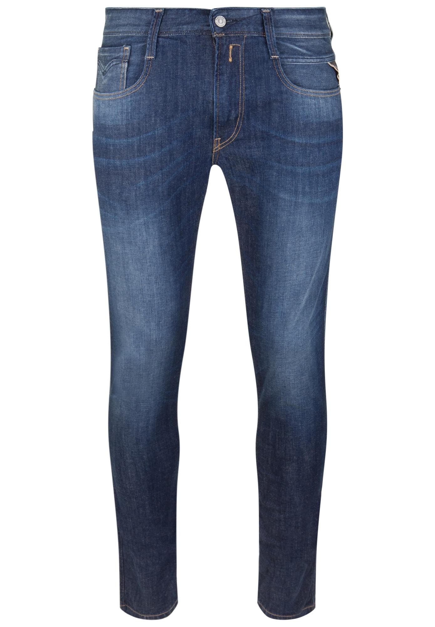 REPLAY Heren Jeans ANBASS COMFORT DENIM blue denim