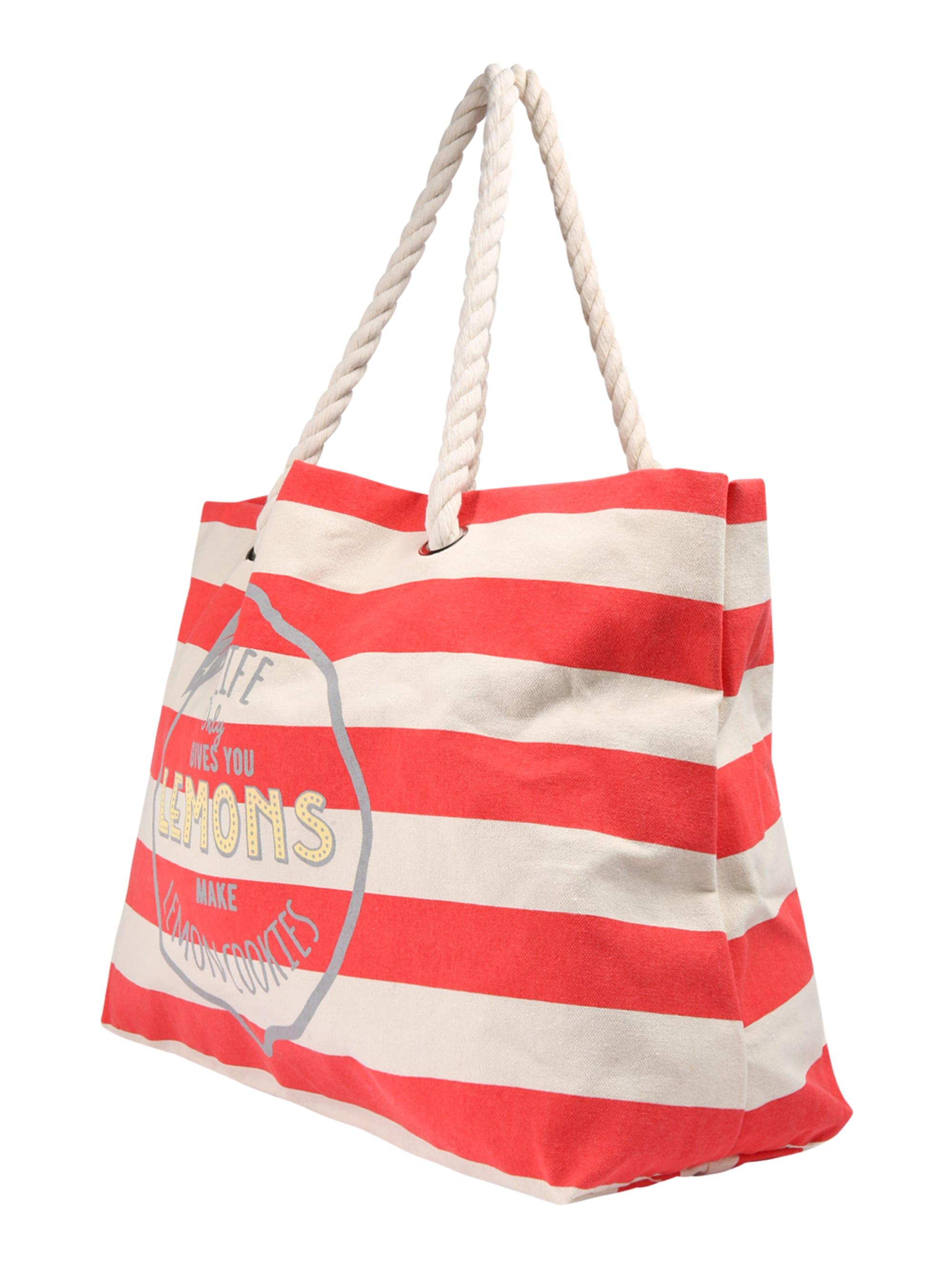 ONLY Torba shopper 'ONLKILO'  czerwony / biały