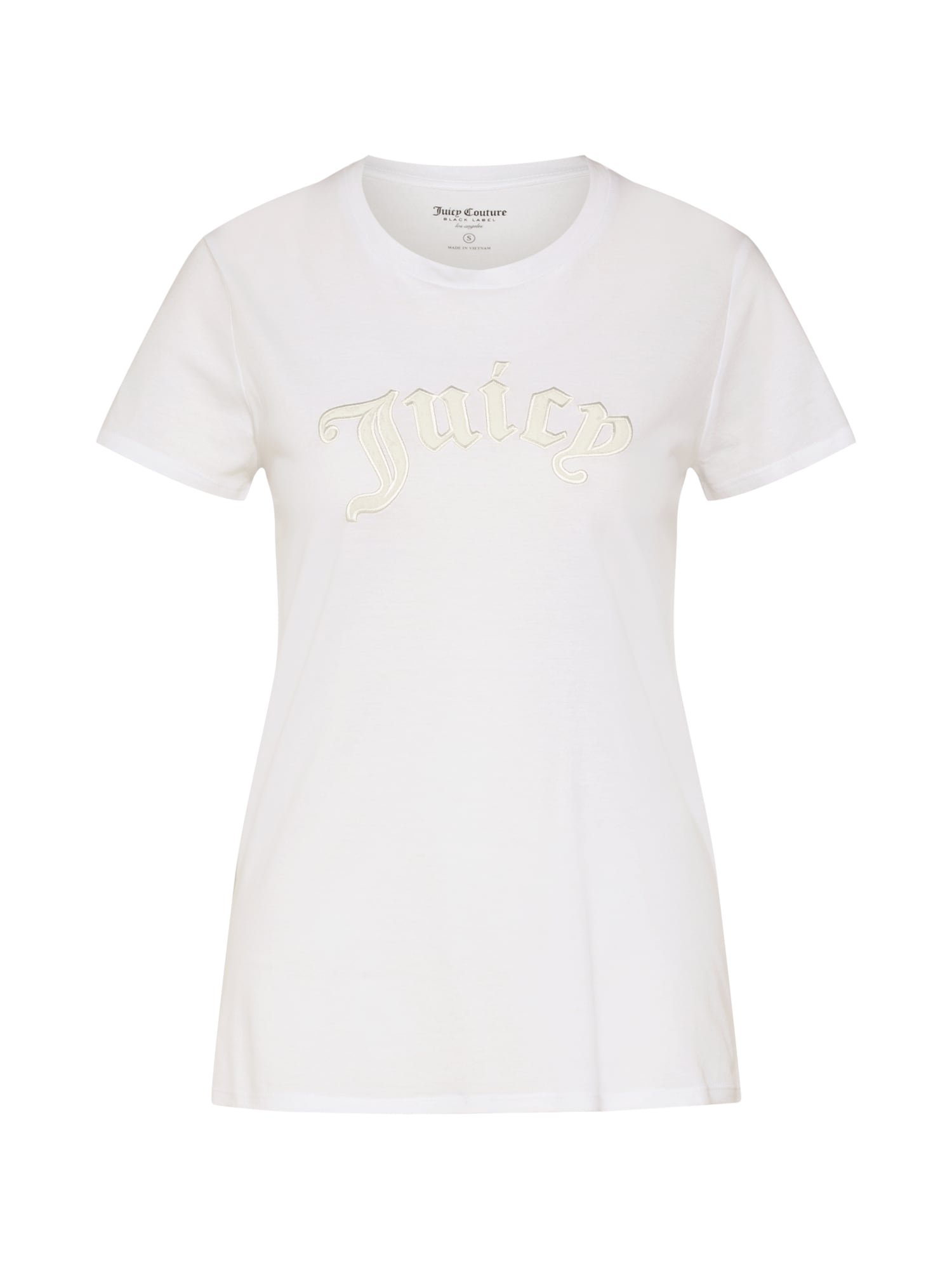 Tričko JUICY GOTHIC TEE bílá Juicy Couture Black Label