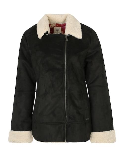 Stylisch gekleidet durch die Übergangszeit: Billabong bringt Dir mit ´Motopalm´ die perfekt Jacke für kühle Tage. Sie ist kuschelweich und liegt mit ihrem Fell-Look total im Trend.