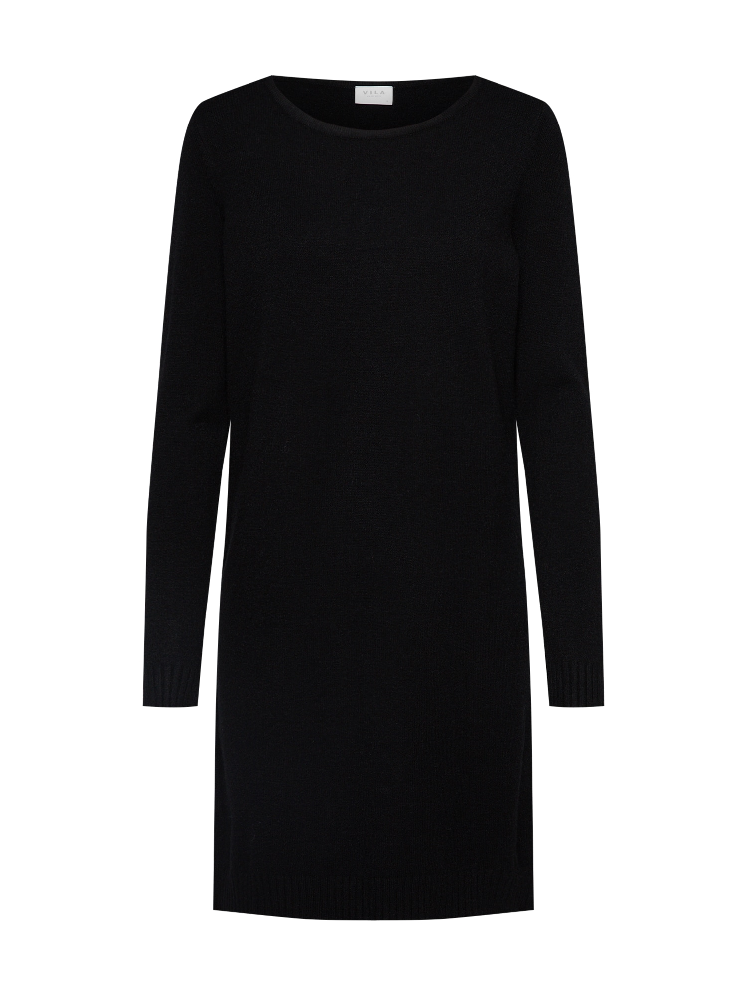 Úpletové šaty černá VILA