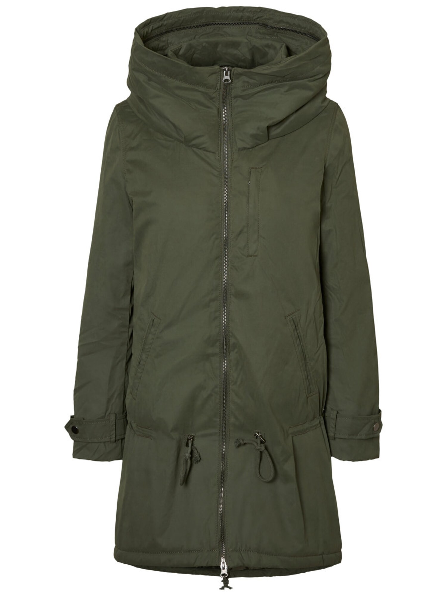 Umstandsjacke 'Gepolstert in den Winter' | Bekleidung > Umstandsmode > Umstandsjacken | Khaki | Mamalicious