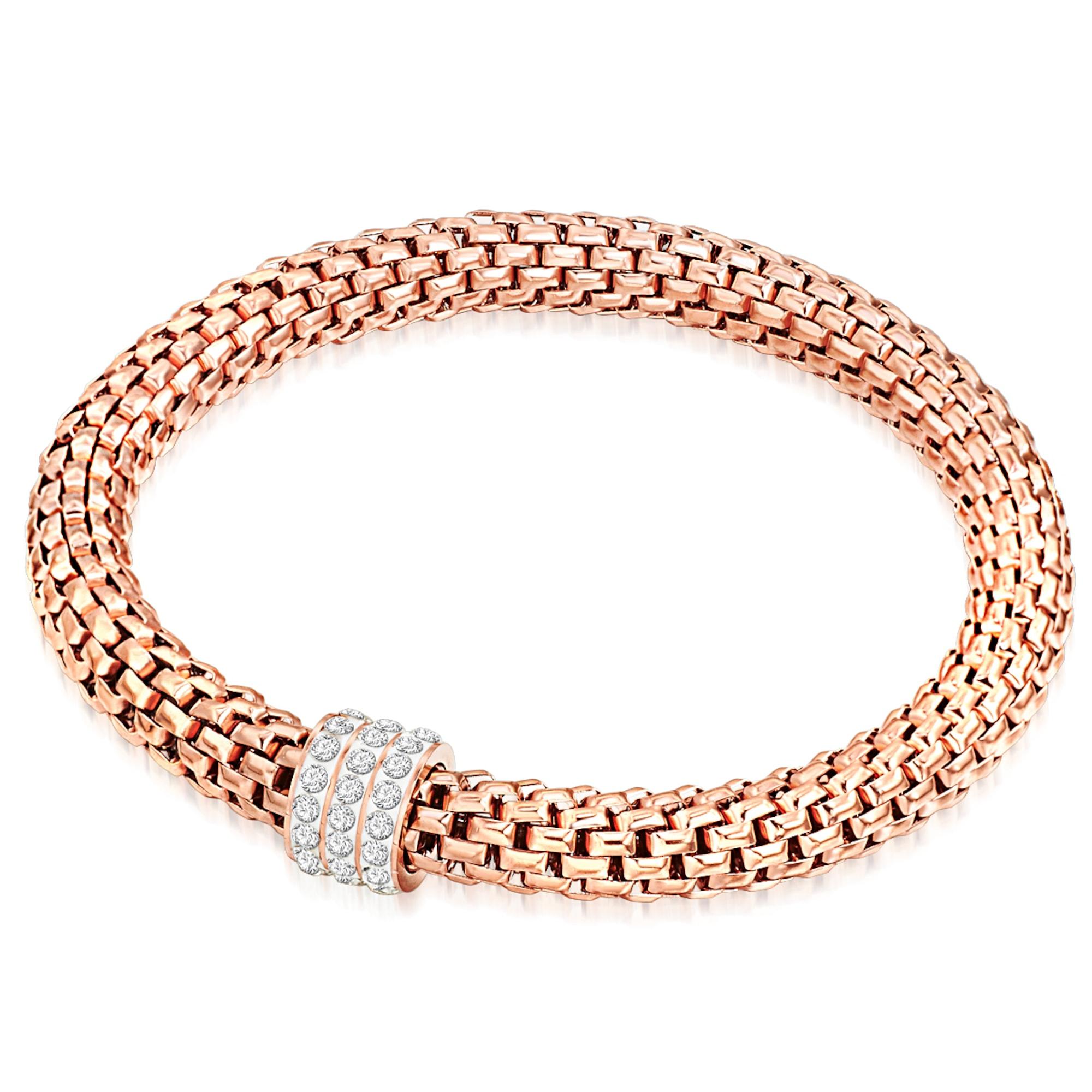 Silberarmband mit Glaskristall | Schmuck > Armbänder > Silberarmbänder | Rafaela Donata