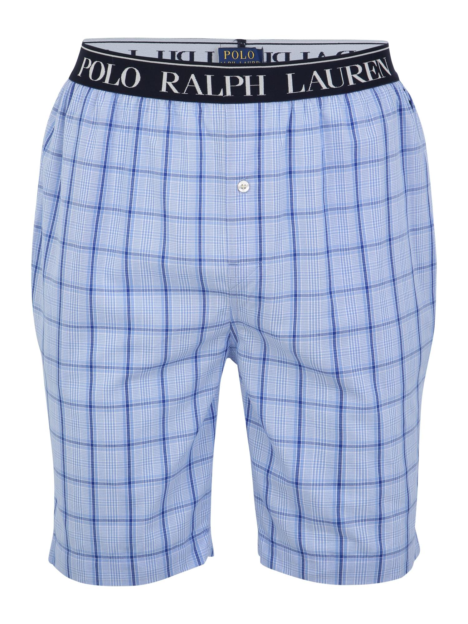 Pyžamové kalhoty modrá POLO RALPH LAUREN