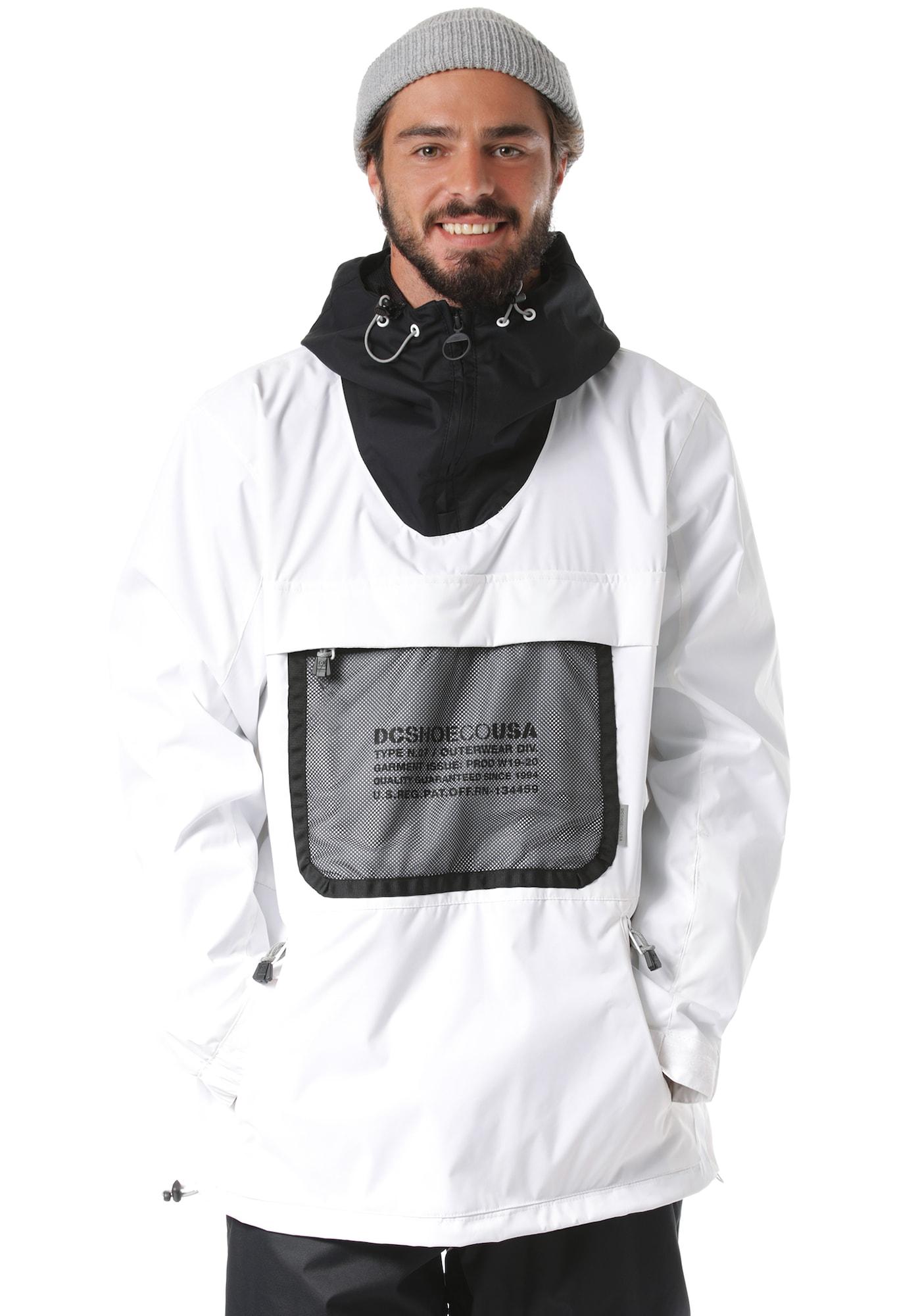 Snowboardjacke 'Asap' | Sportbekleidung > Sportjacken > Snowboardjacken | Schwarz - Weiß | DC Shoes