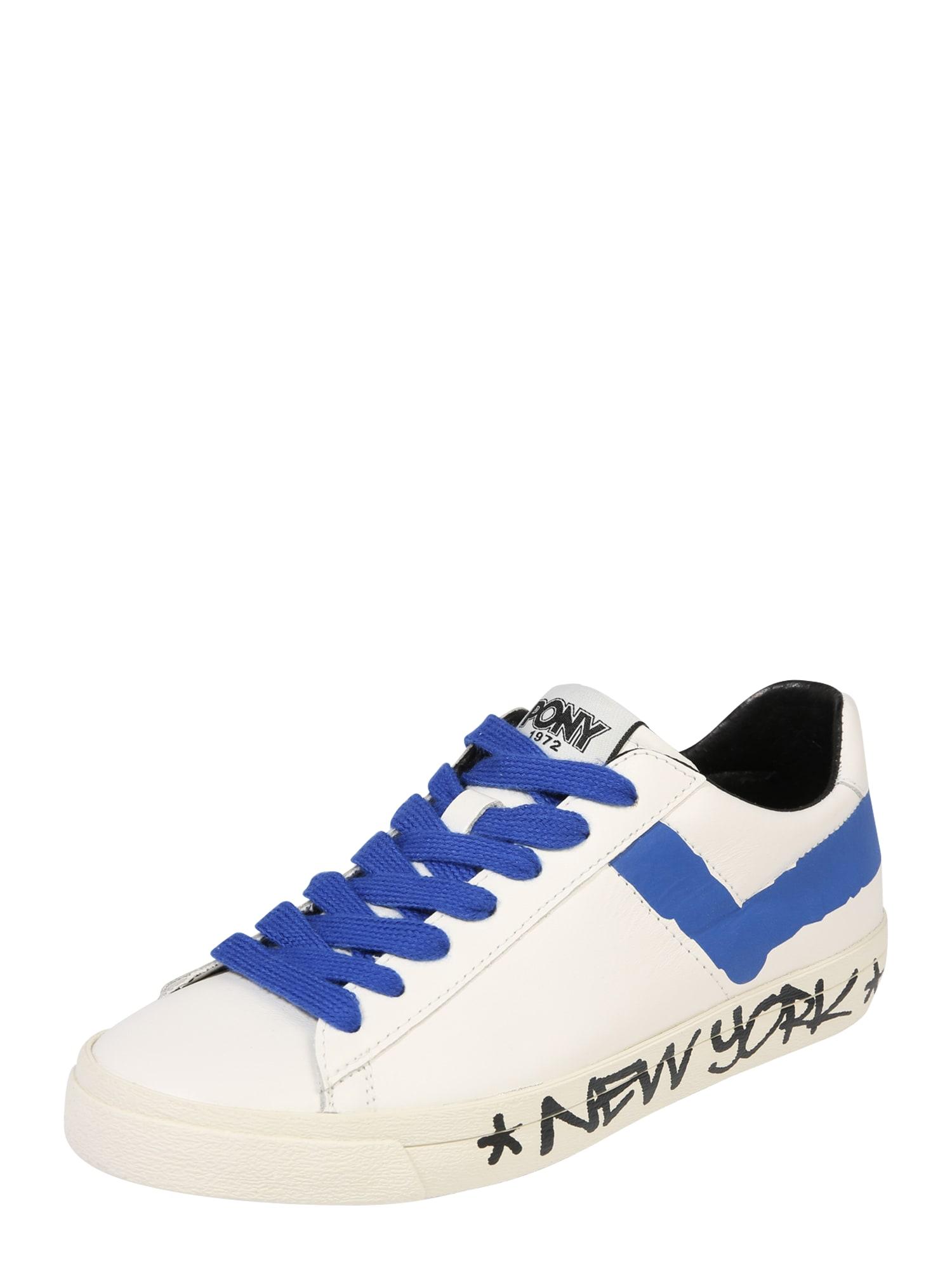 Tenisky TOP STAR modrá bílá PONY