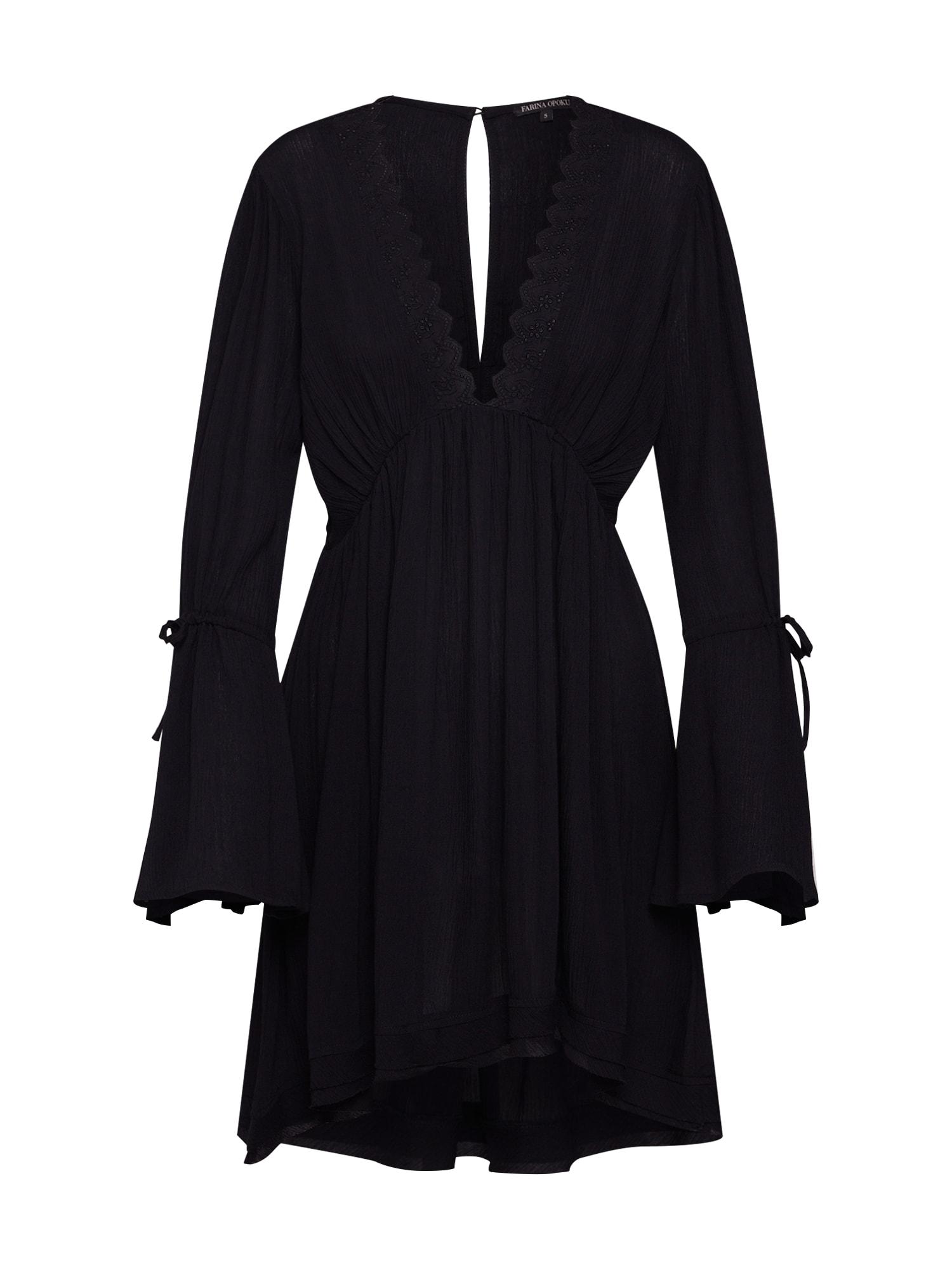 Letní šaty SHIVA černá Farina Opoku