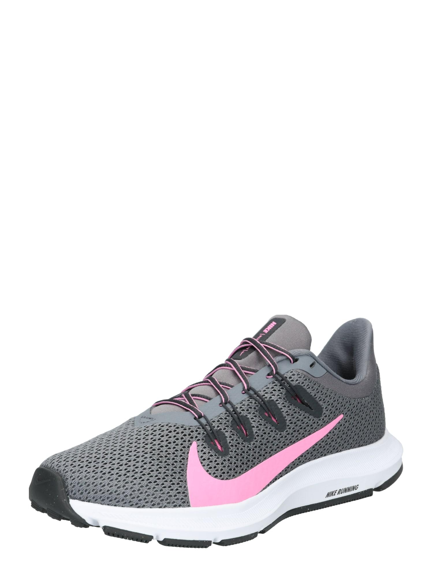 Sportovní boty WMNS QUEST 2 tmavě šedá růžová NIKE