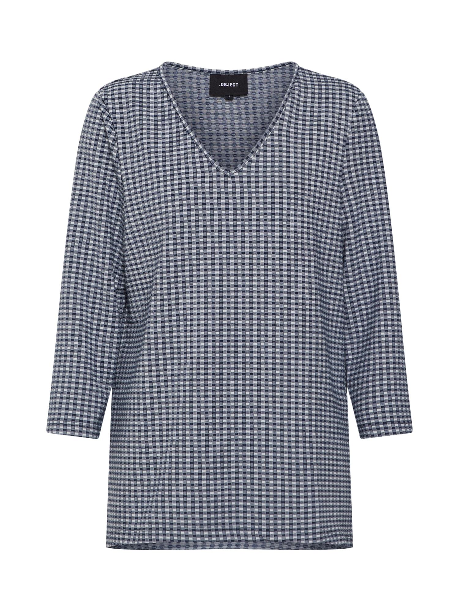 Tričko HANNAH modrá bílá OBJECT