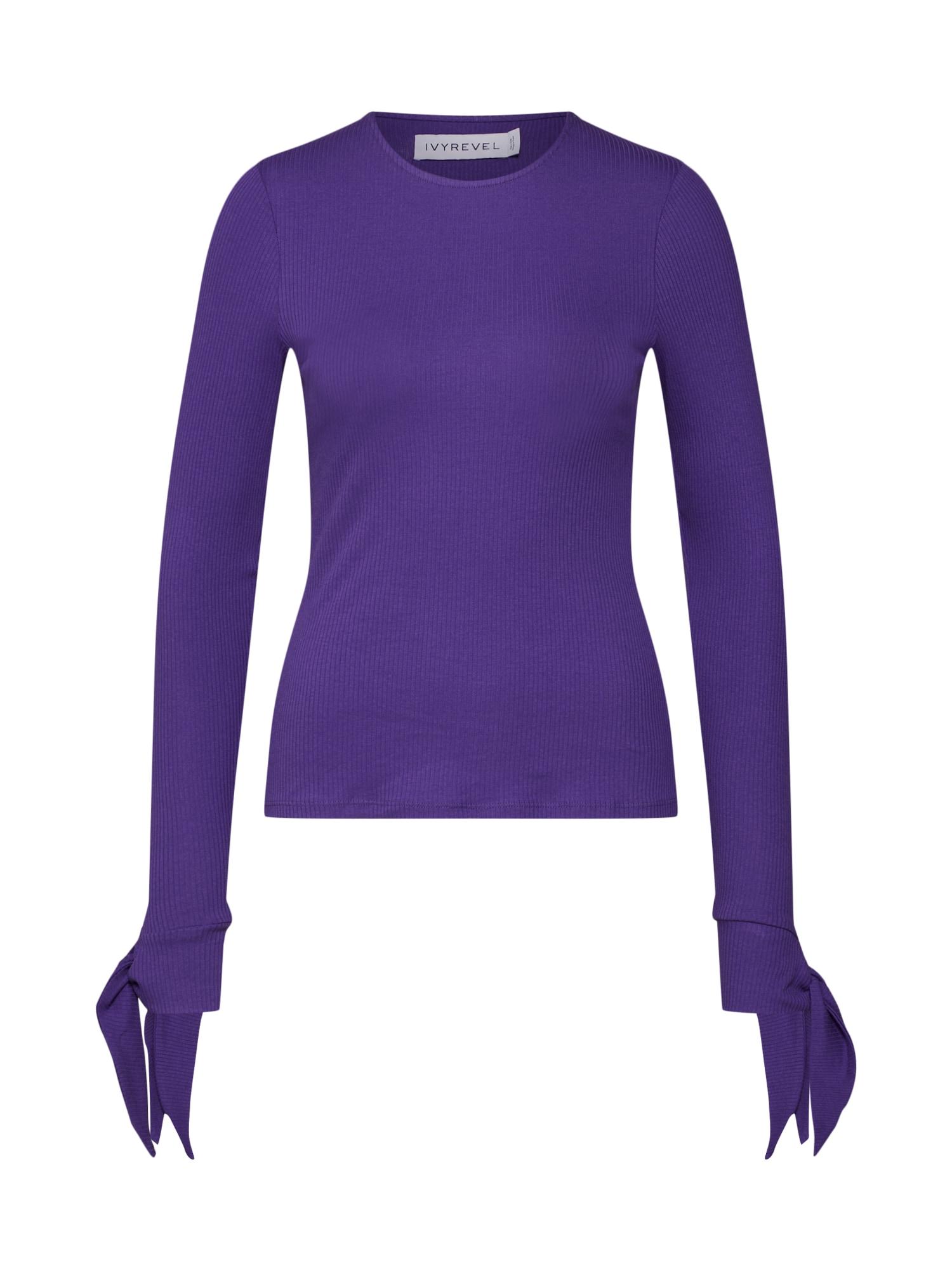 Tričko MAZE fialová IVYREVEL